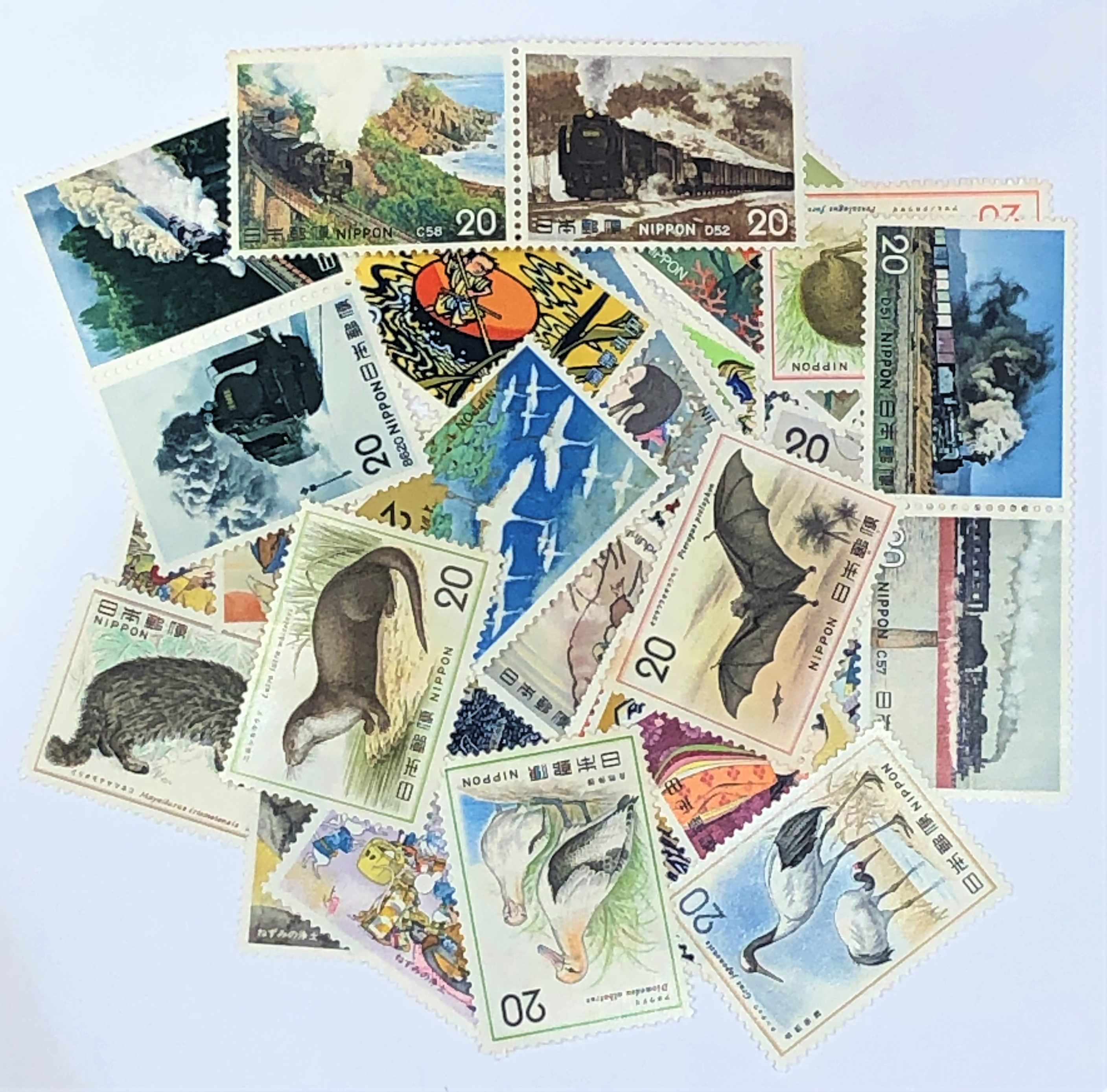 切手バラ 20円