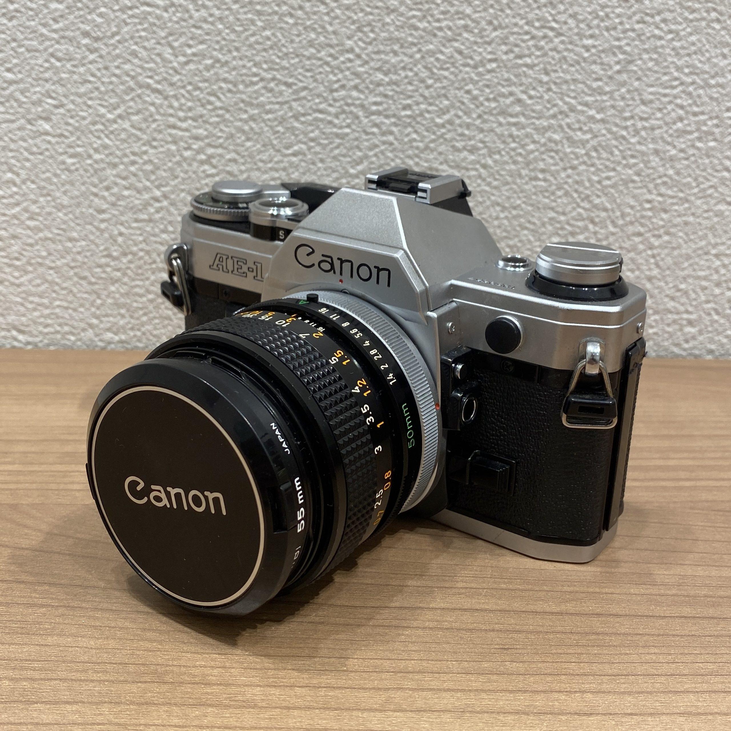 【Canon/キャノン】AE-1 フィルムカメラ