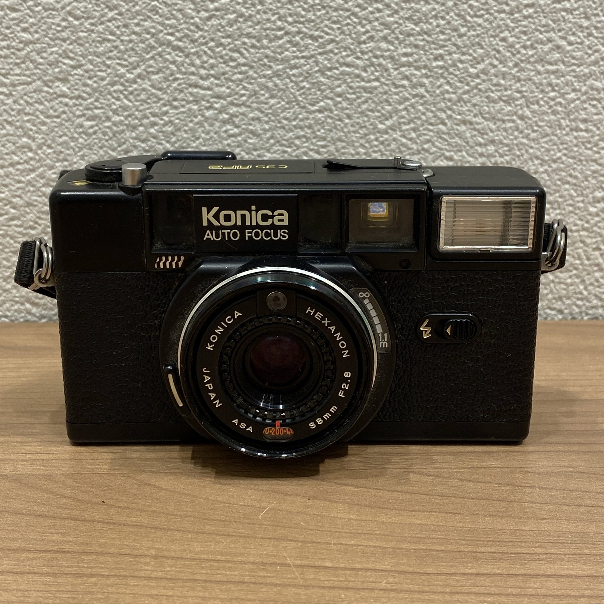 【Konica/コニカ】C 35 オートフォーカス/AF フィルムカメラ