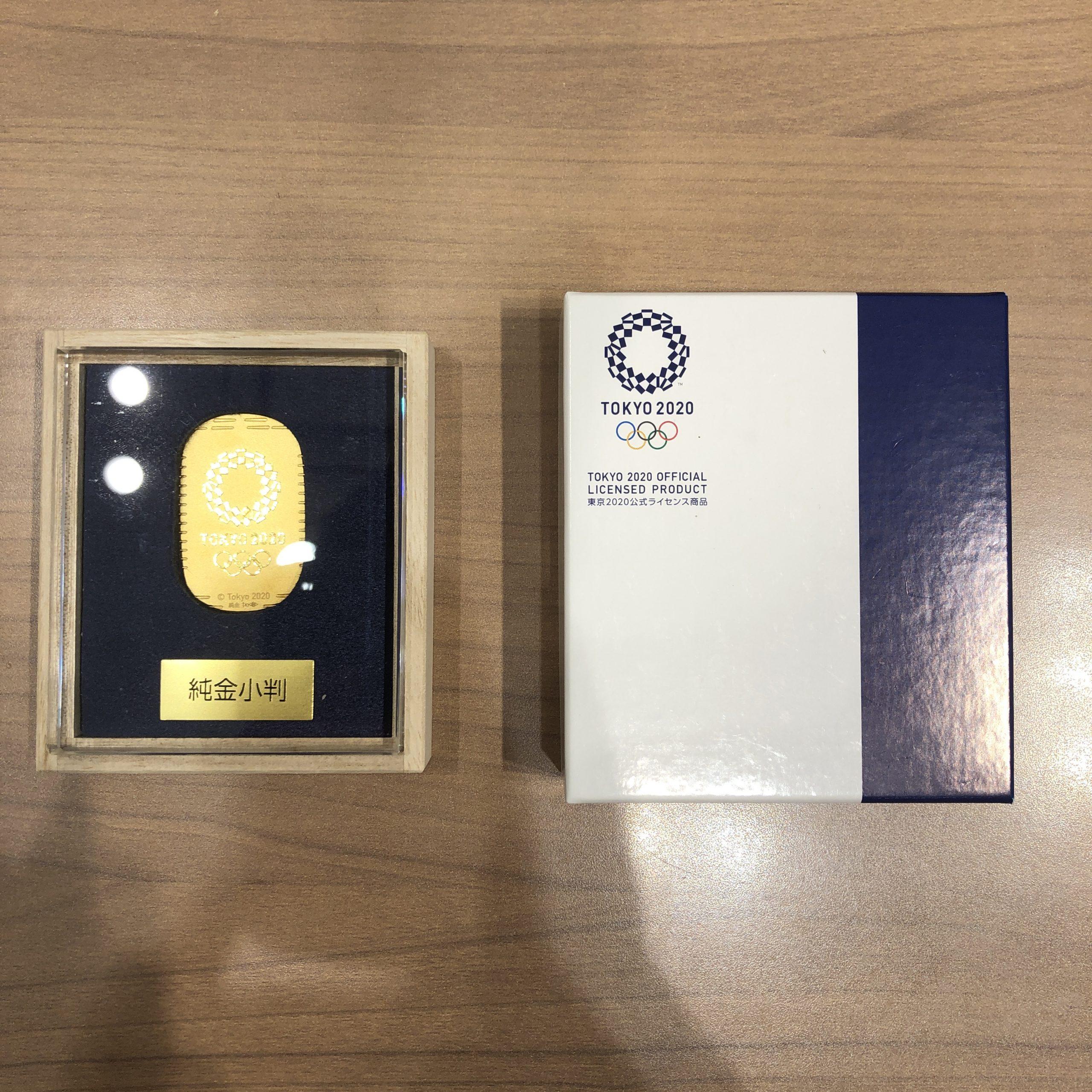 【K24/24金】東京オリンピック記念小判 10.6g