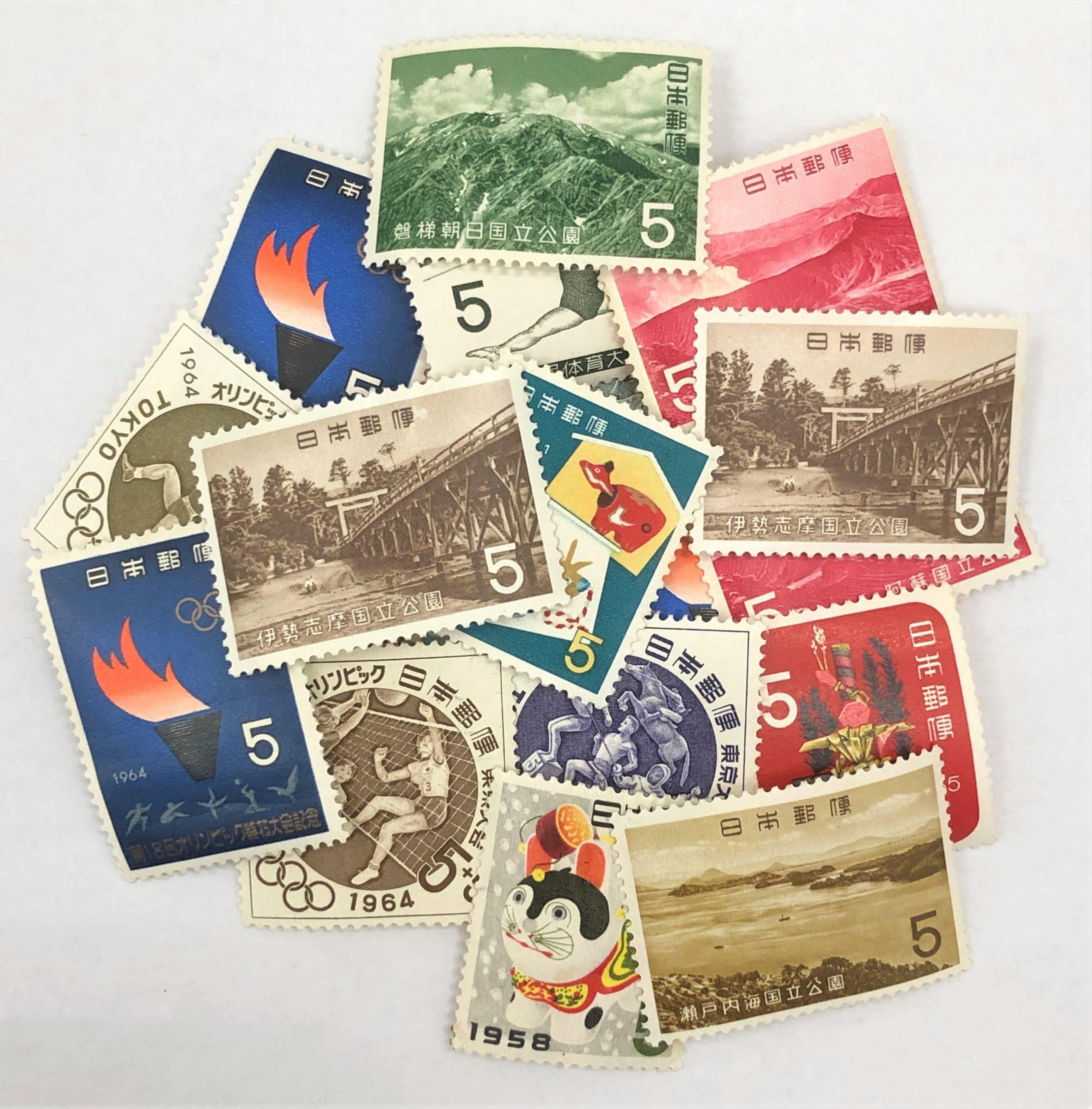 切手バラ 5円