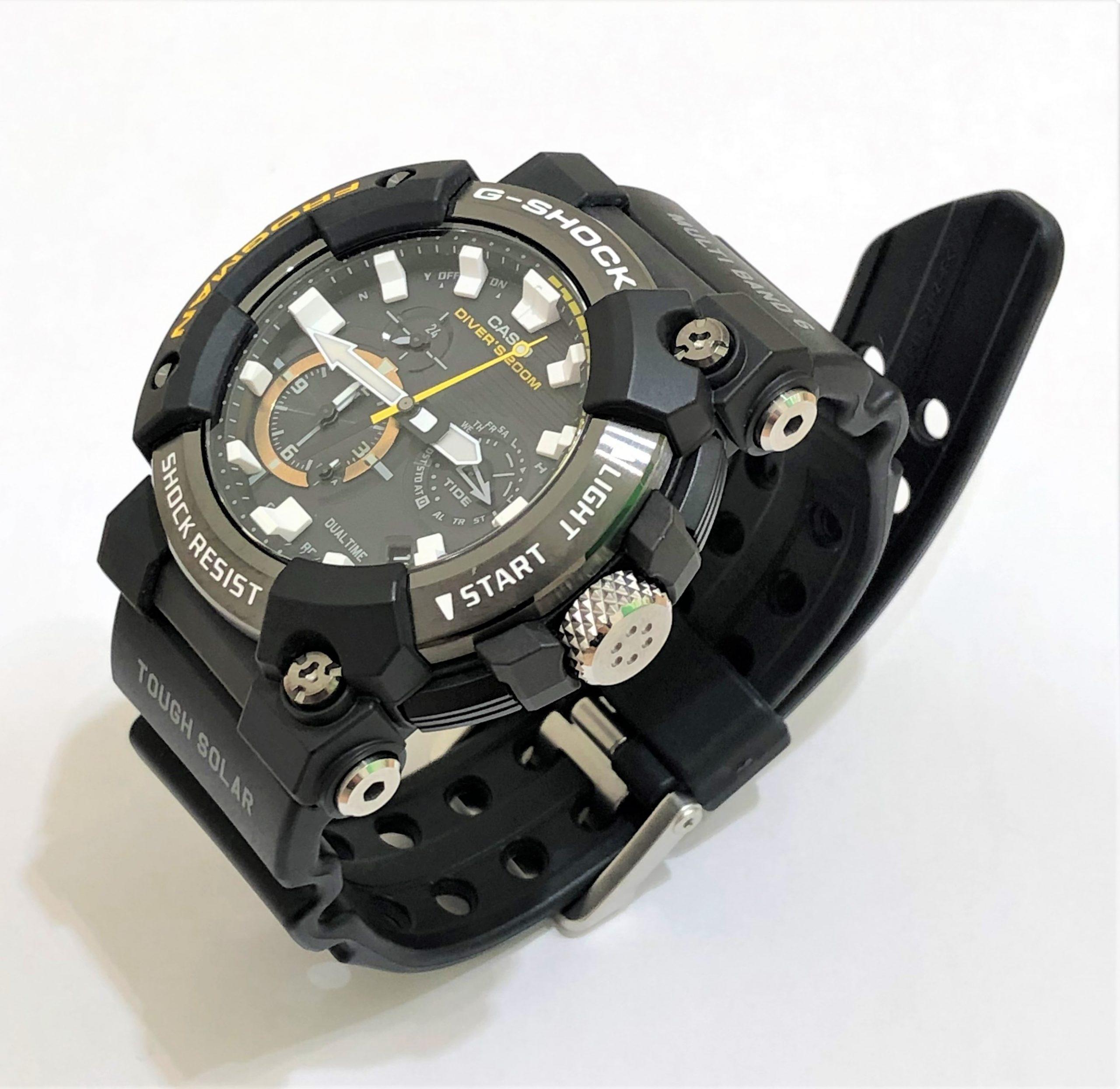 【CASIO G-SHOCK/カシオ Gショック】フロッグマン GWF-A1000 腕時計