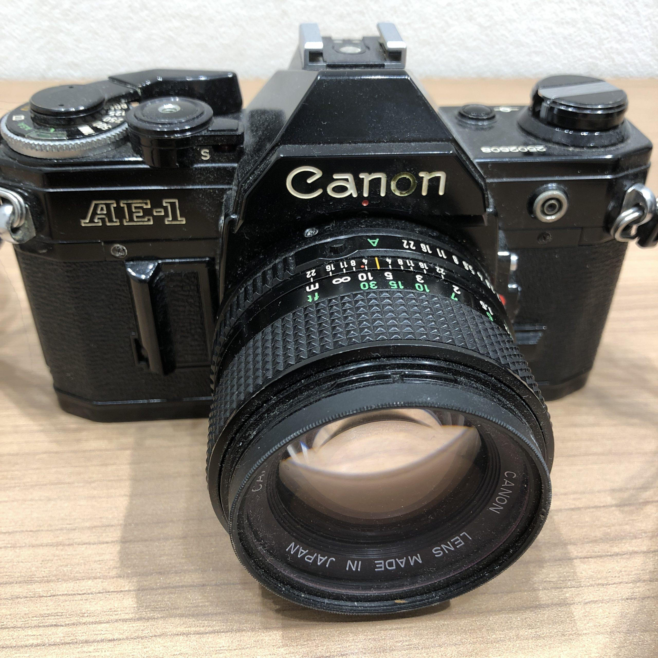 【canon/キャノン】AE-1 一眼レフカメラ