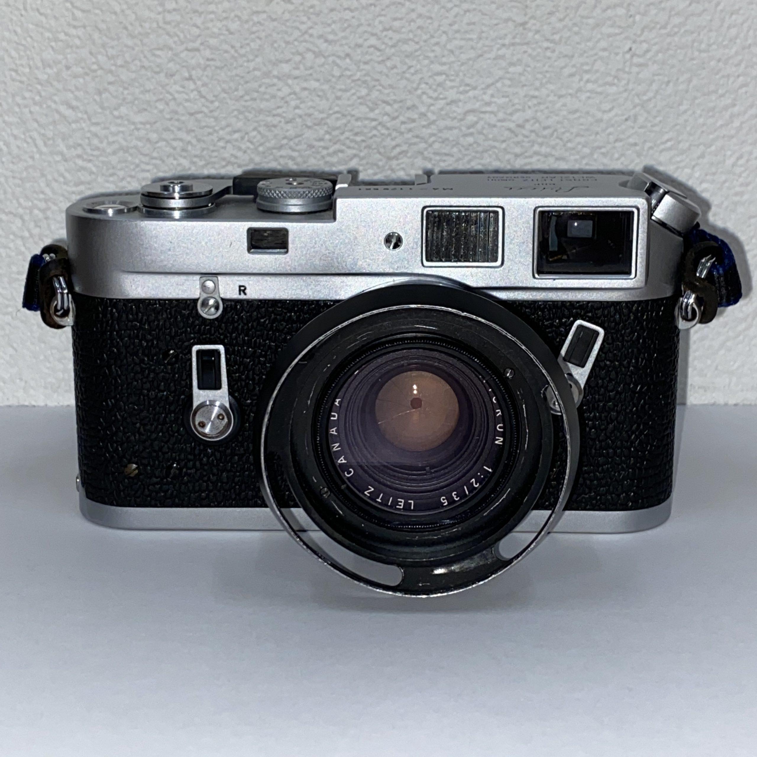 【Leica/ライカ】M4 ERNST LEITZ GMBH/WETZLAR GERMANY レンジファインダーカメラ レンズ SUMMICRON 1:2/35