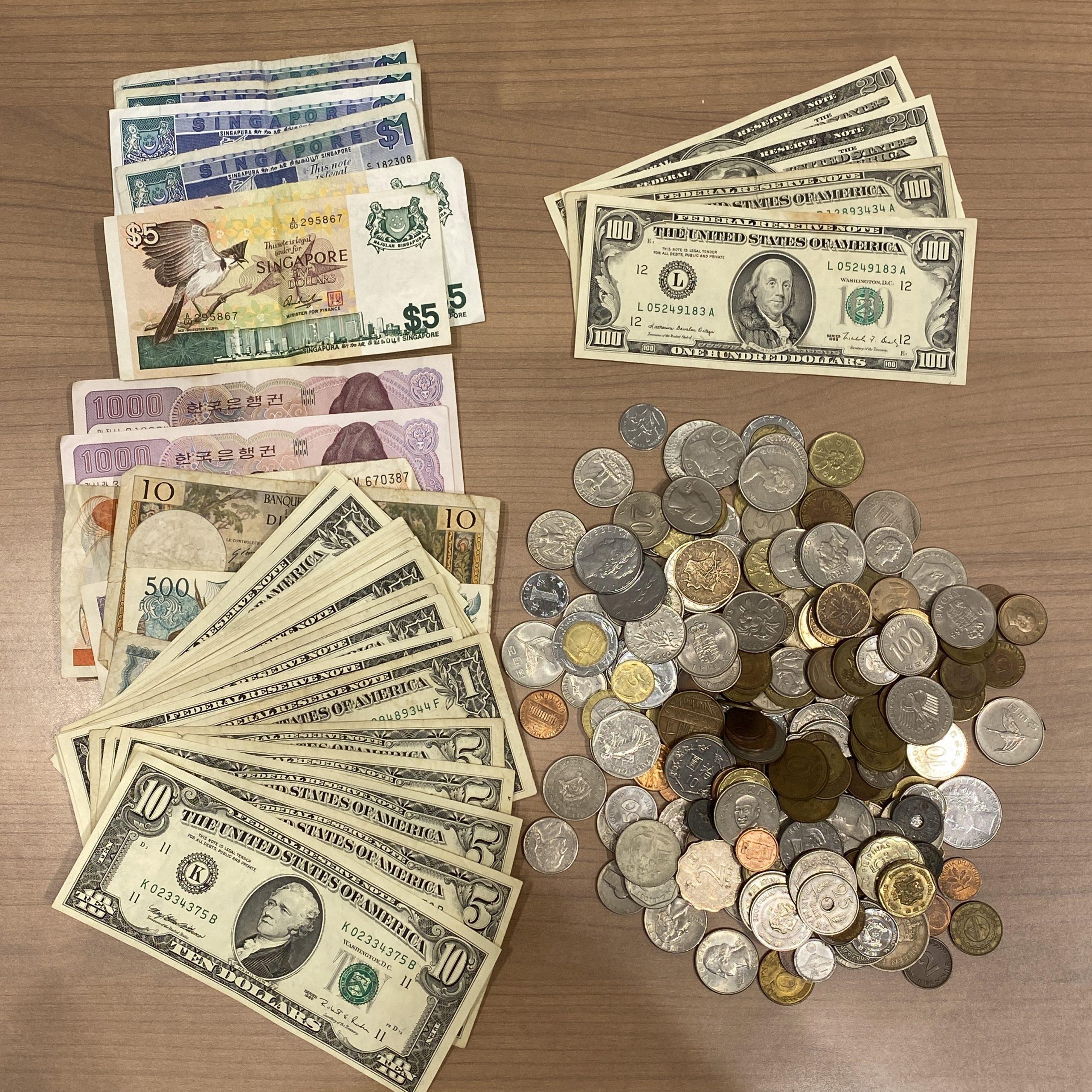 外国銭/外国紙幣おまとめ