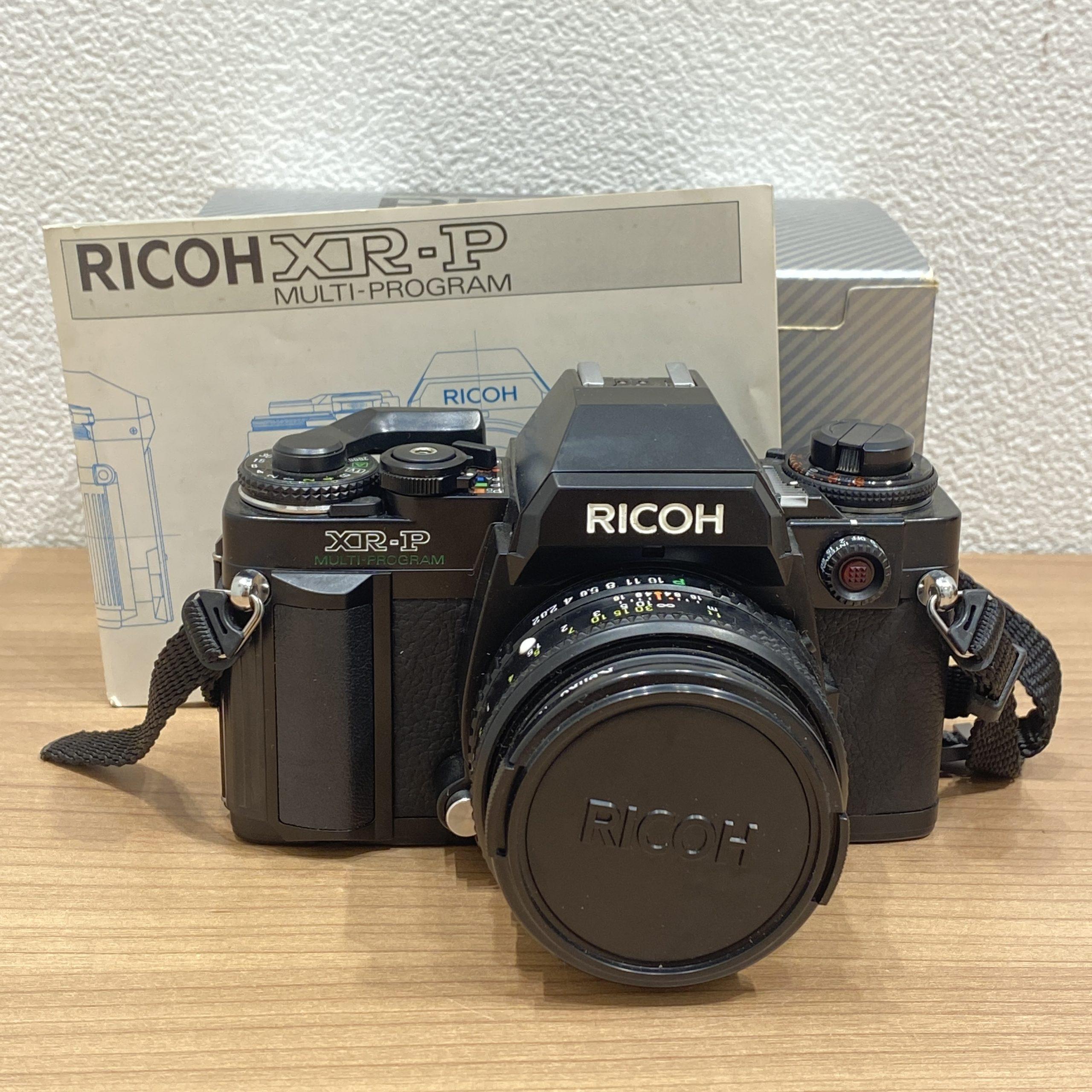 【RICOH/リコー】XR-P マルチプログラム フィルムカメラ RIKENON P 1:2 50mm