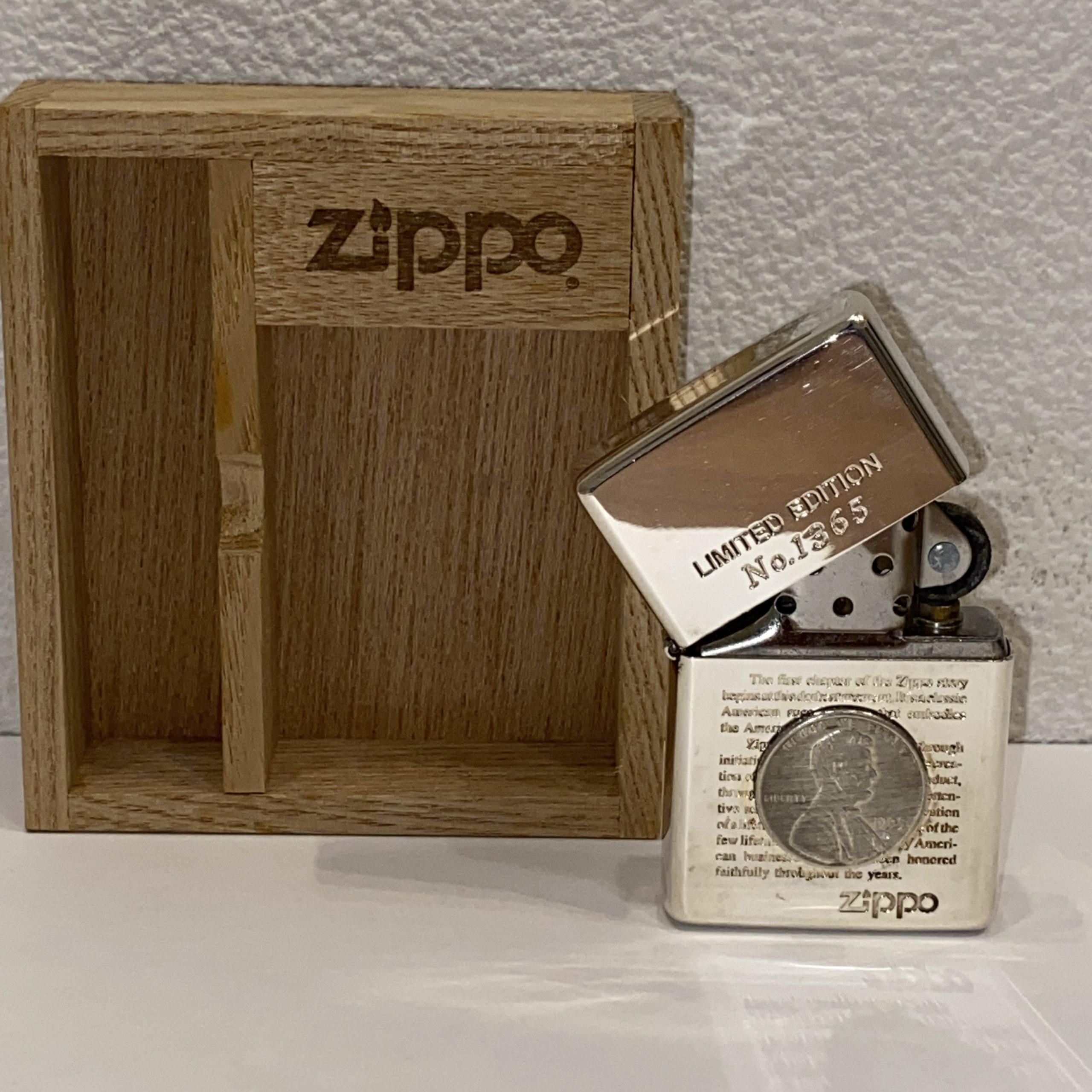【Zippo/ジッポ】オイルライター LIMITED EDITION/リミテッドエディション No.1365
