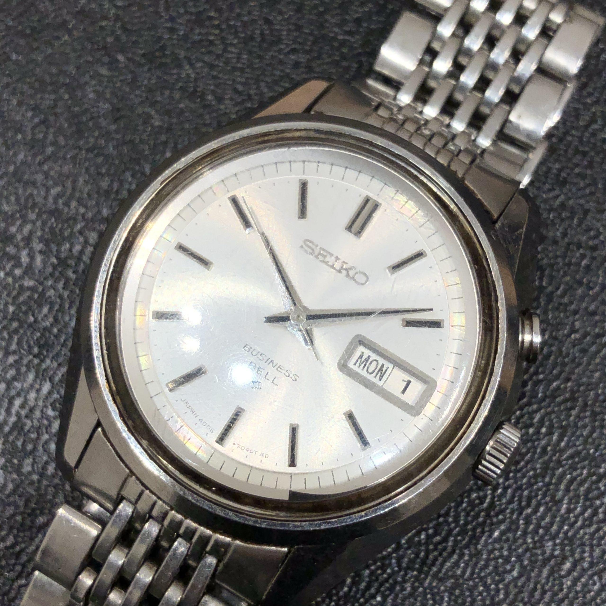 【SEIKO/セイコー】ビジネスベル 腕時計