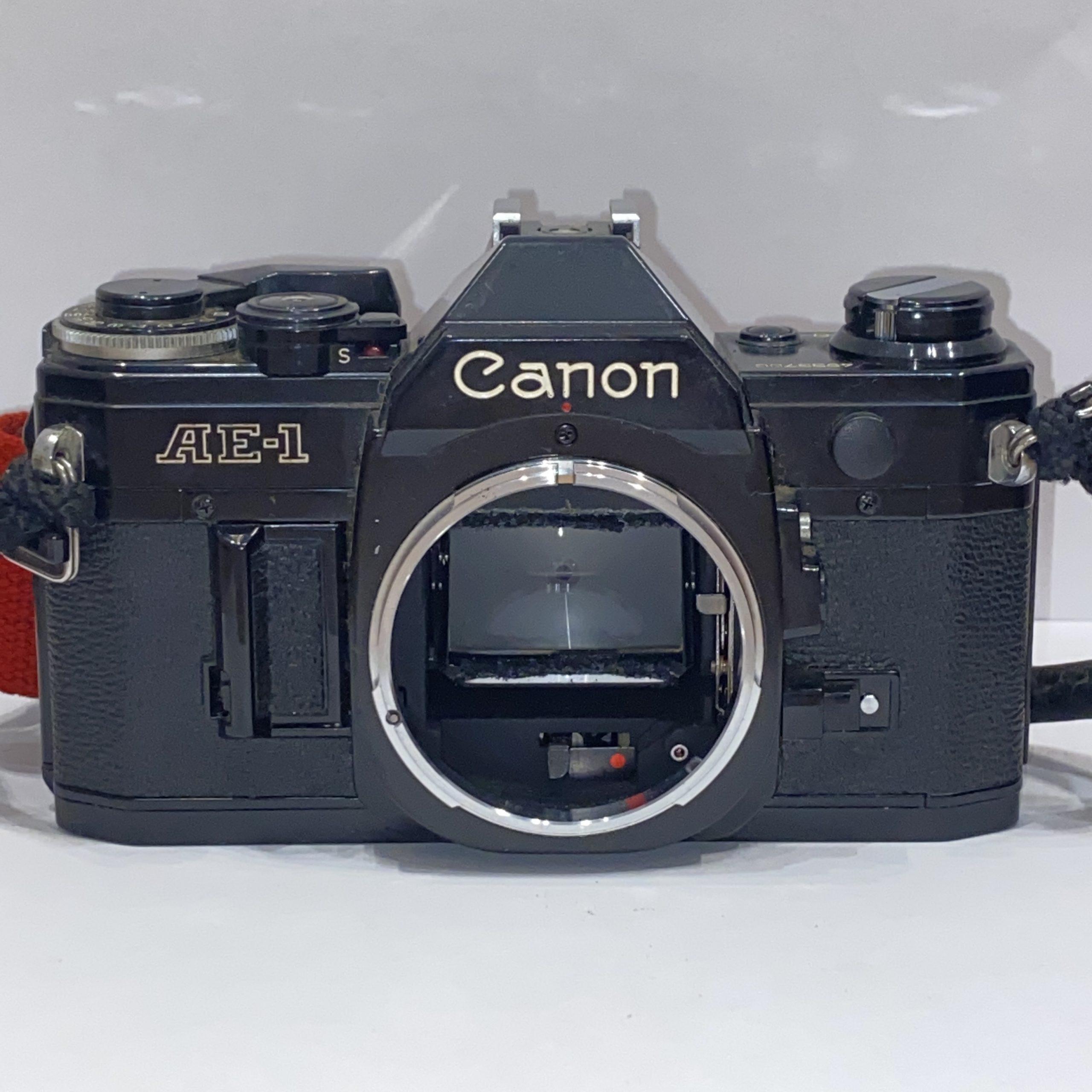 【Canon/キャノン】フィルムカメラ AE-1