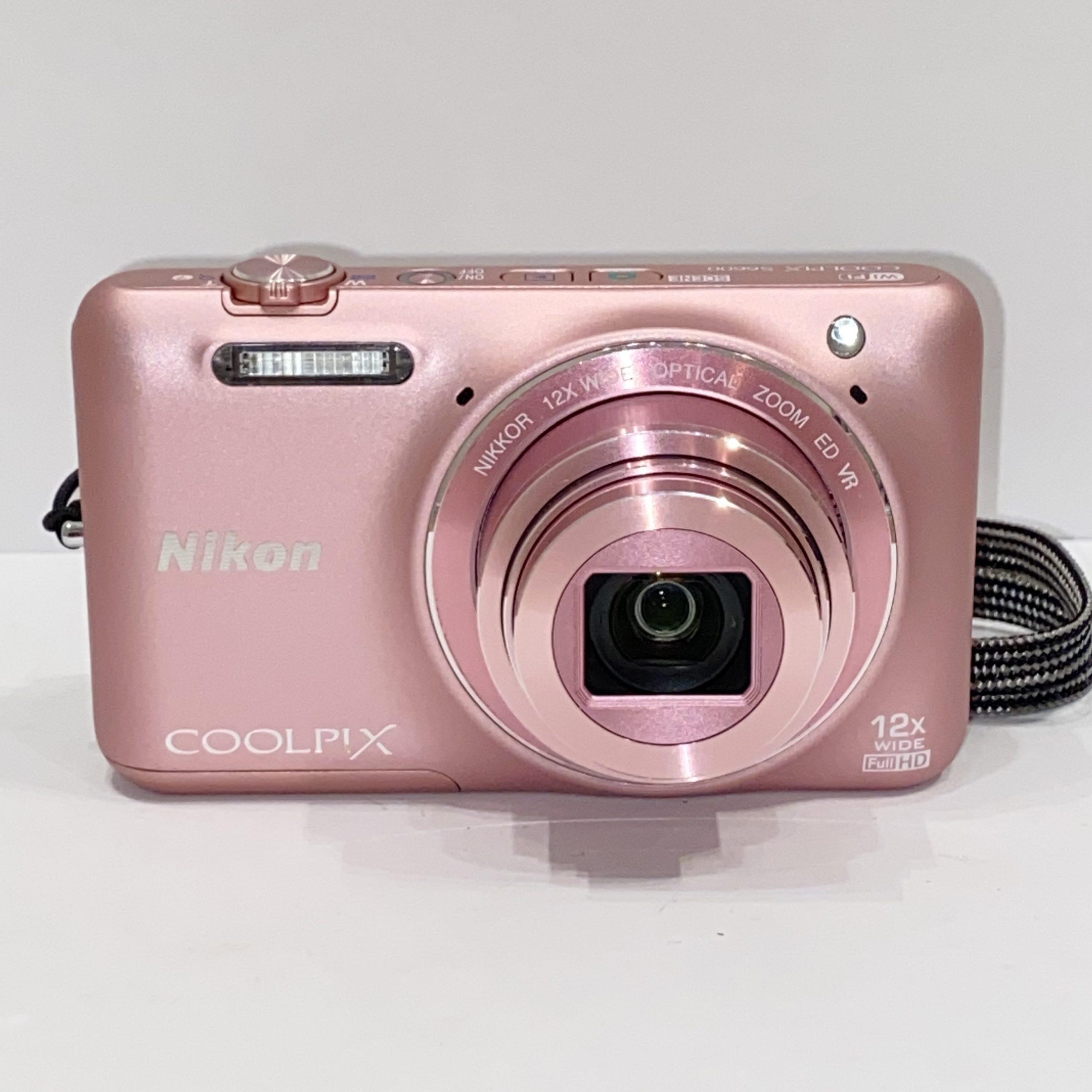 【Nikon/ニコン】COOLPIX S6600 コンパクトデジタルカメラ ピンク