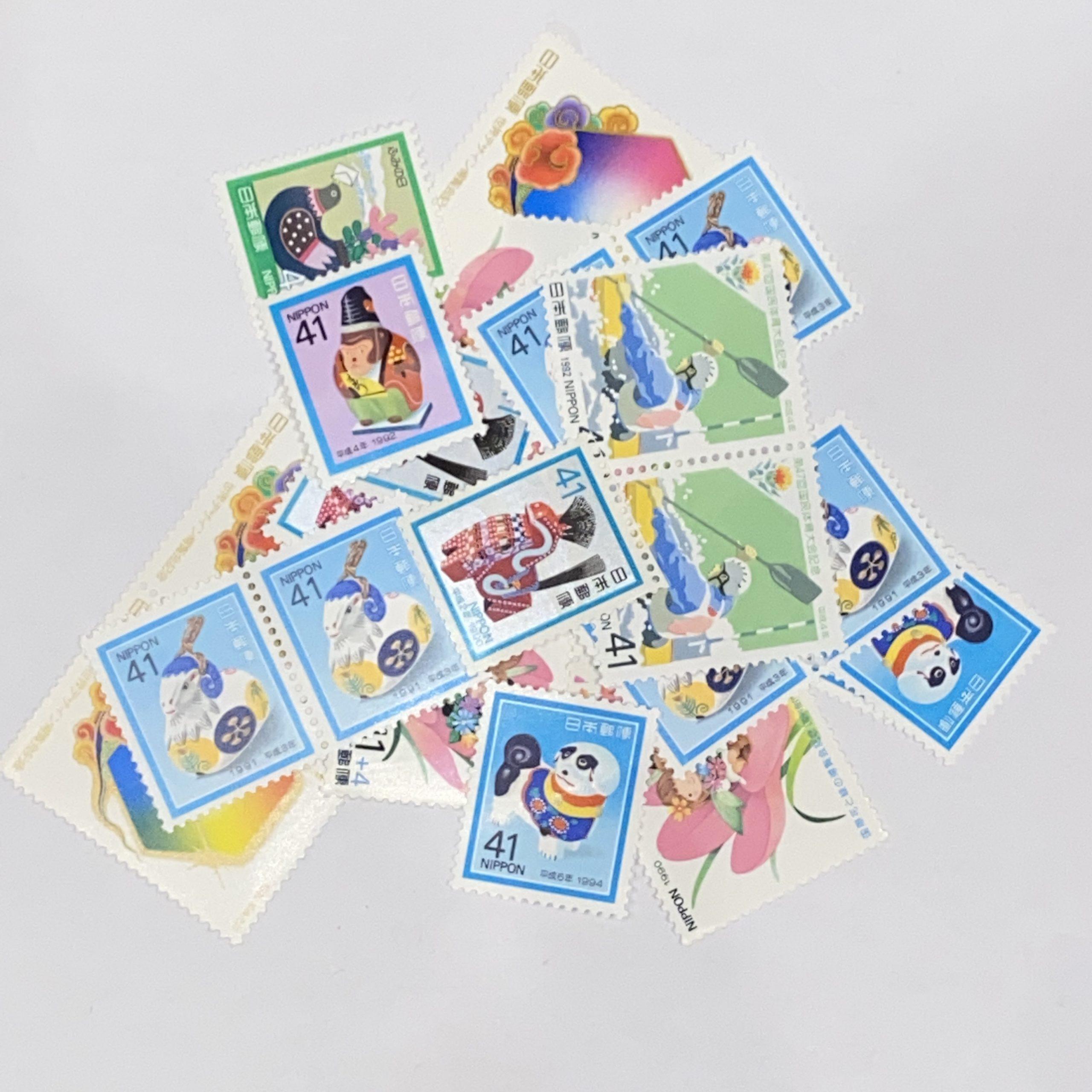 日本バラ切手 41円