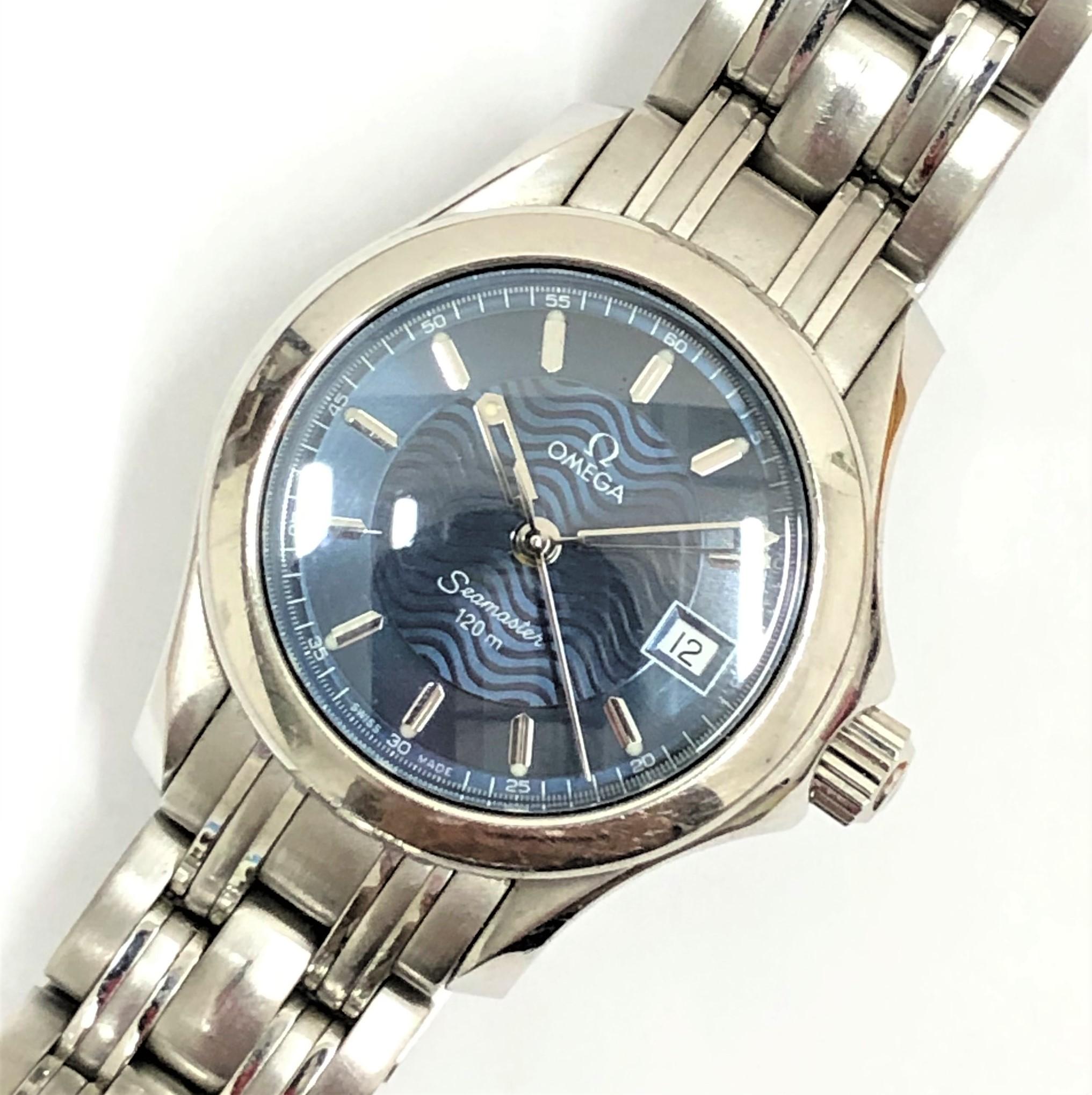 【OMEGA/オメガ】シマスター 120m 2571.81 QZ 腕時計