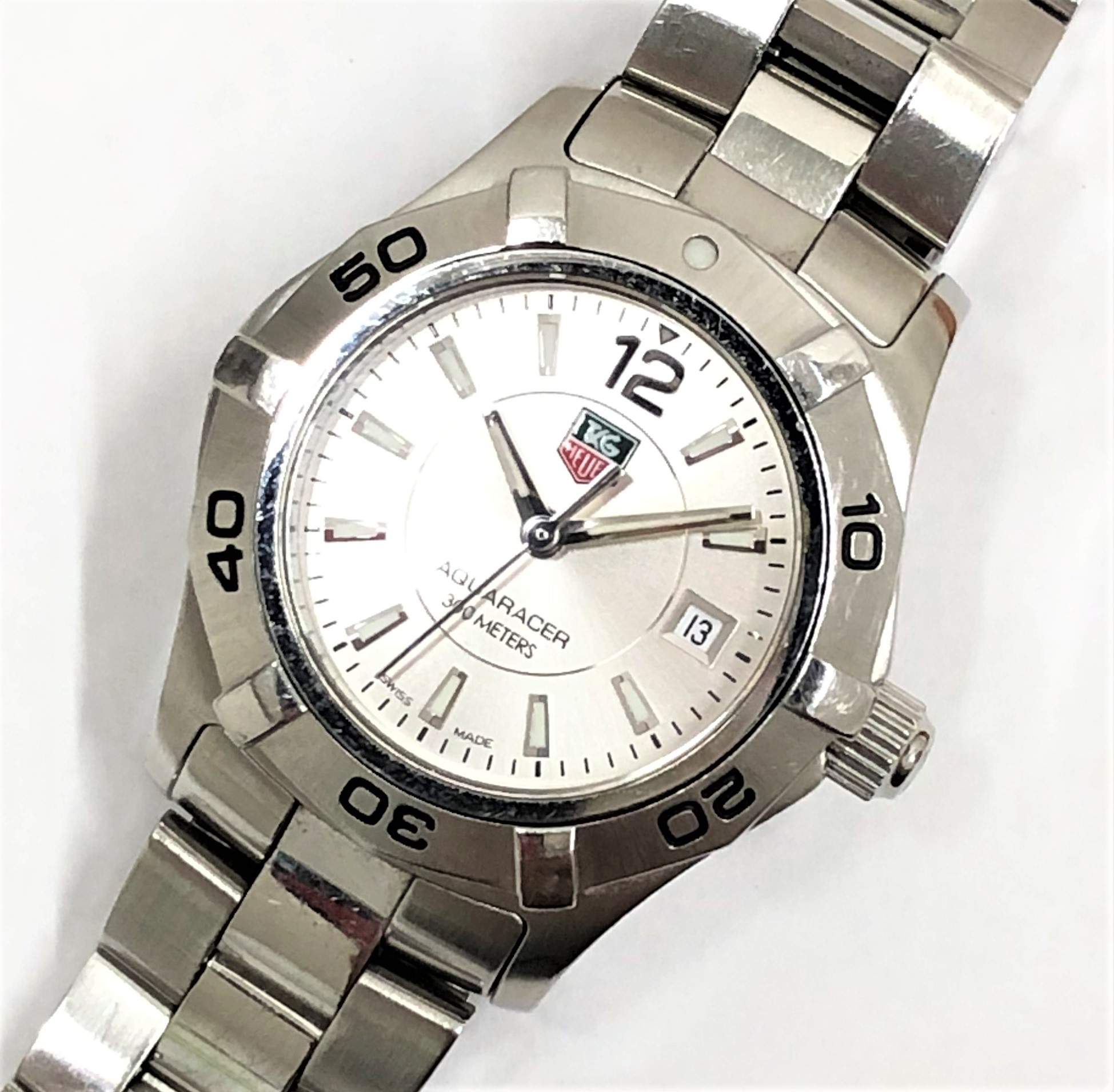 【TAG HEUER/タグホイヤー】アクアレーサー300 WAF1412 QZ 腕時計