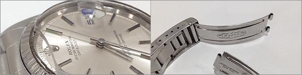 壊れたブランド時計のイメージ