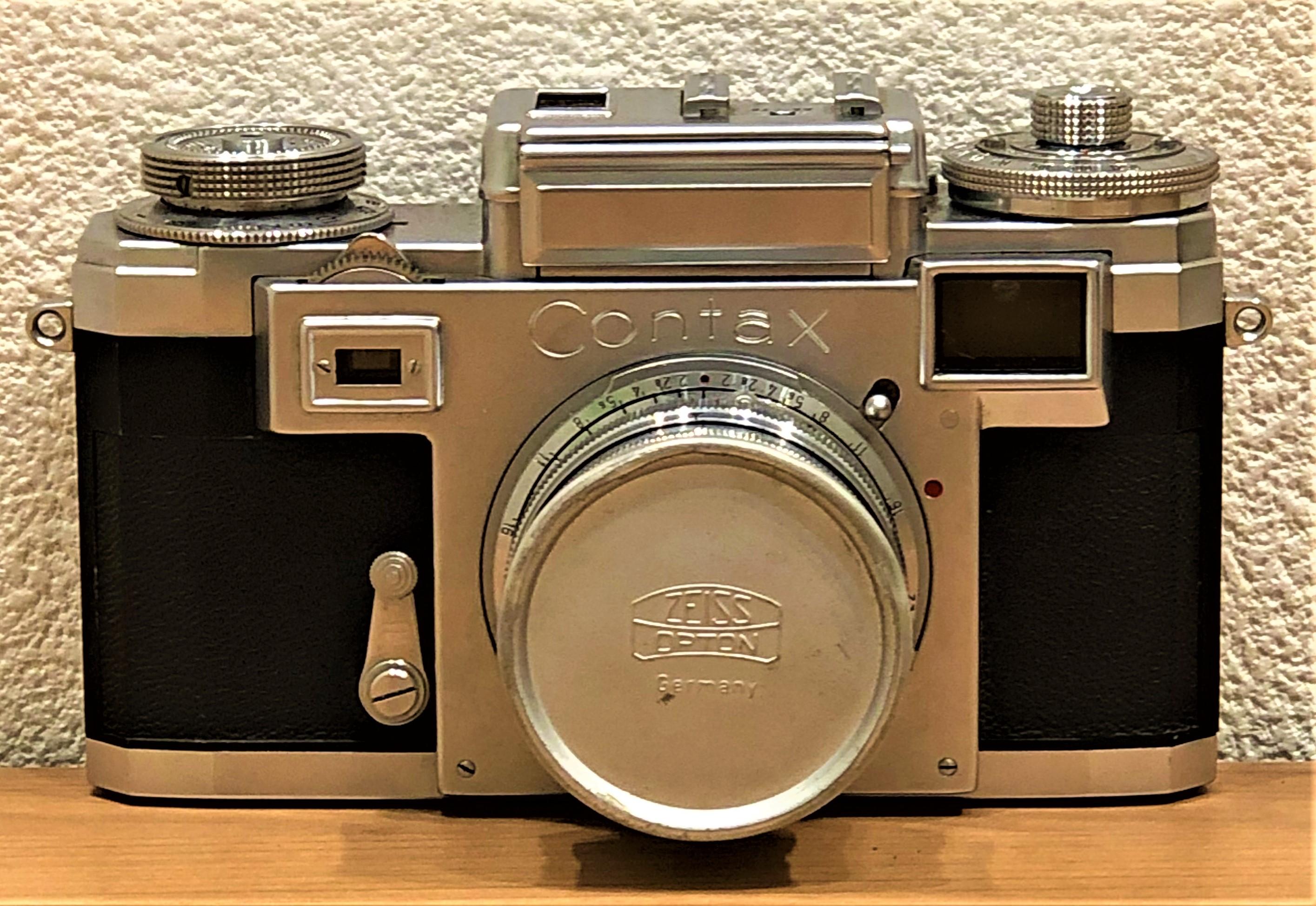 【CONTAX/コンタックス】ZEISS IKONツァイスイコン IIIa カラーダイヤル 一眼レフフィルムカメラ
