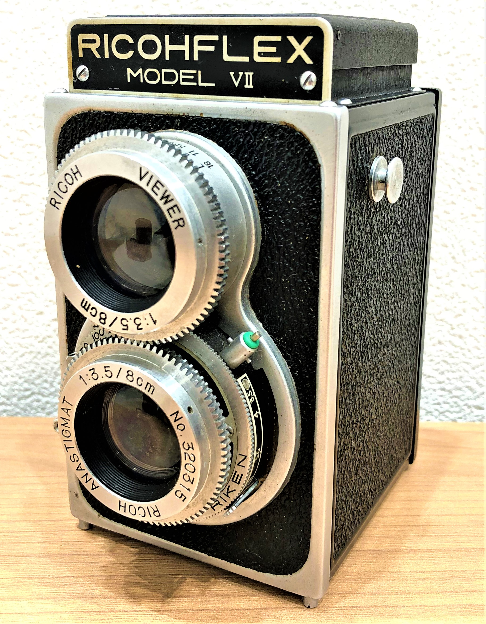 【RICOH FLEX/リコーフレックス】MODEL Ⅶ 二眼レフカメラ