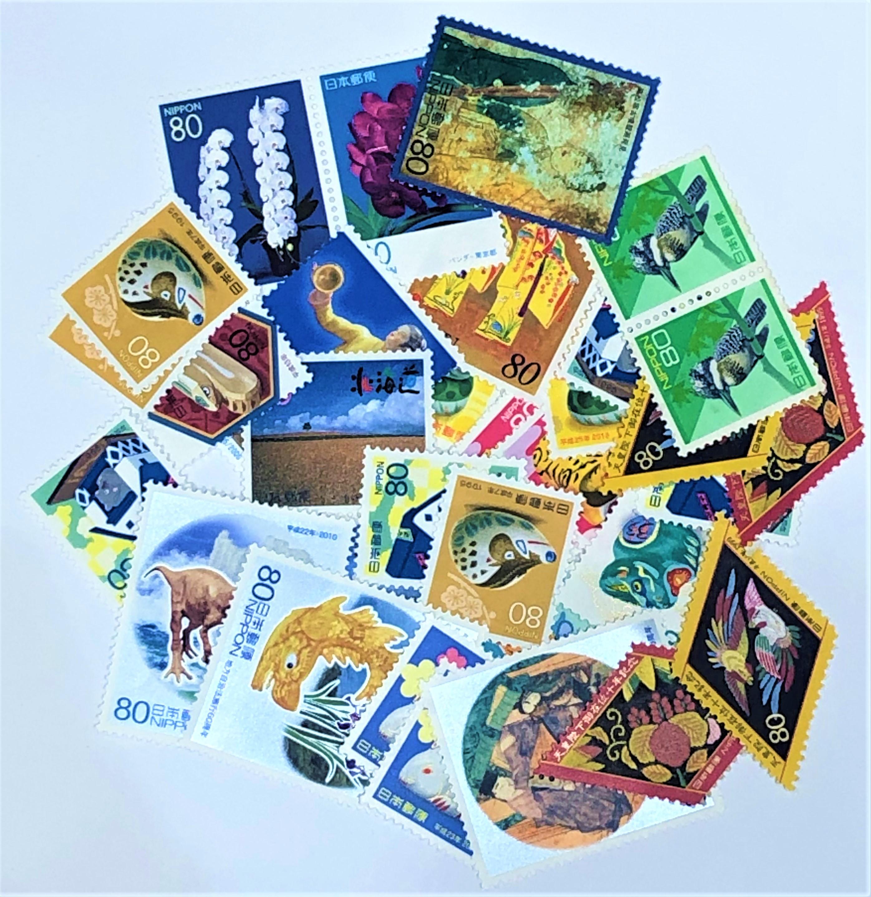 切手バラ 80円