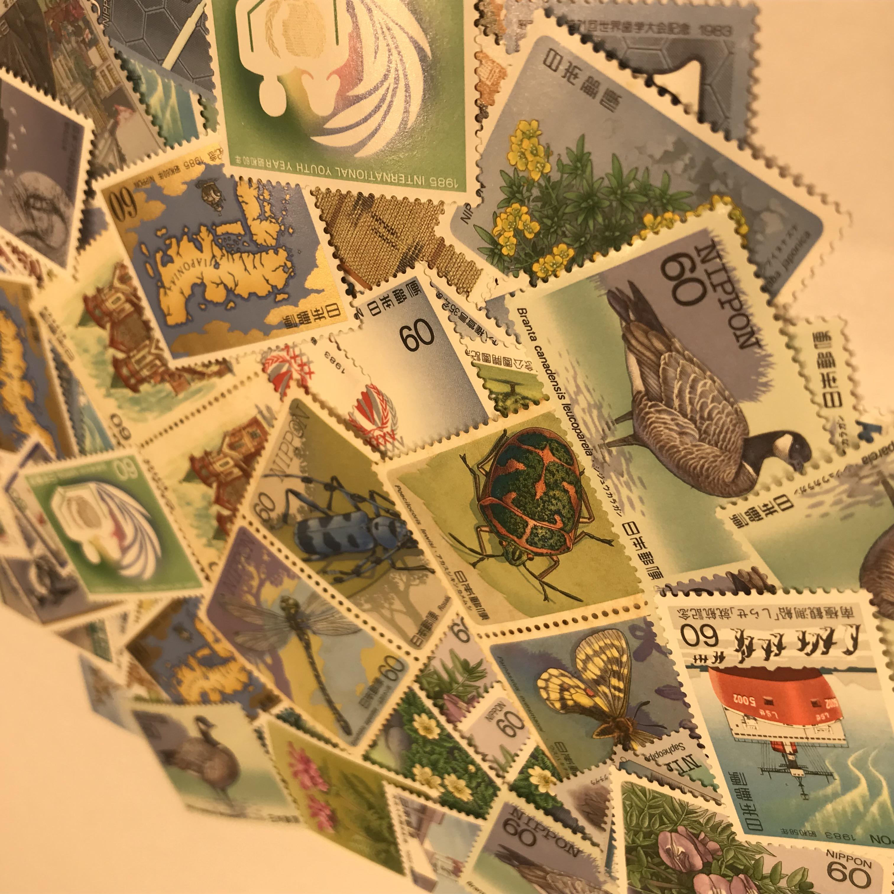 切手バラ 60円