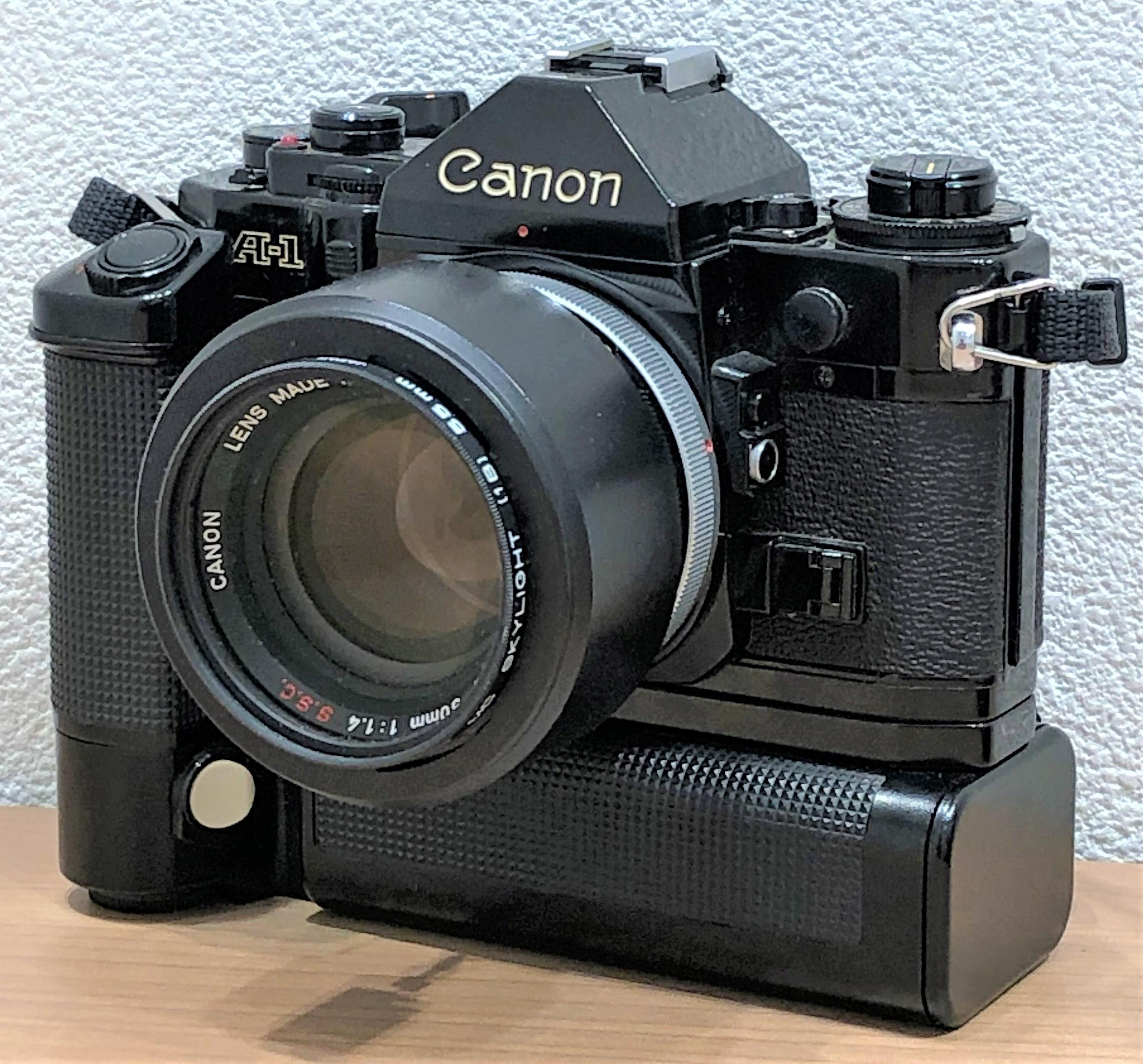 【Canon/キャノン】A-1 一眼レフフィルムカメラ