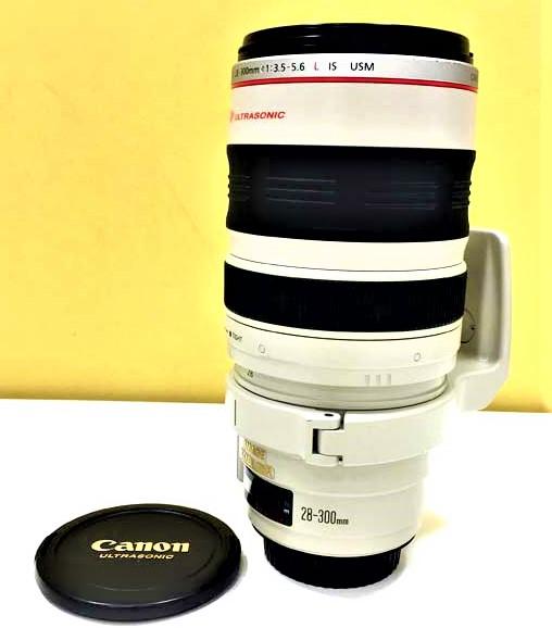 【Canon/キャノン】EF 28-300 3.5-5.6 L IS USM ウルトラソニック レンズ
