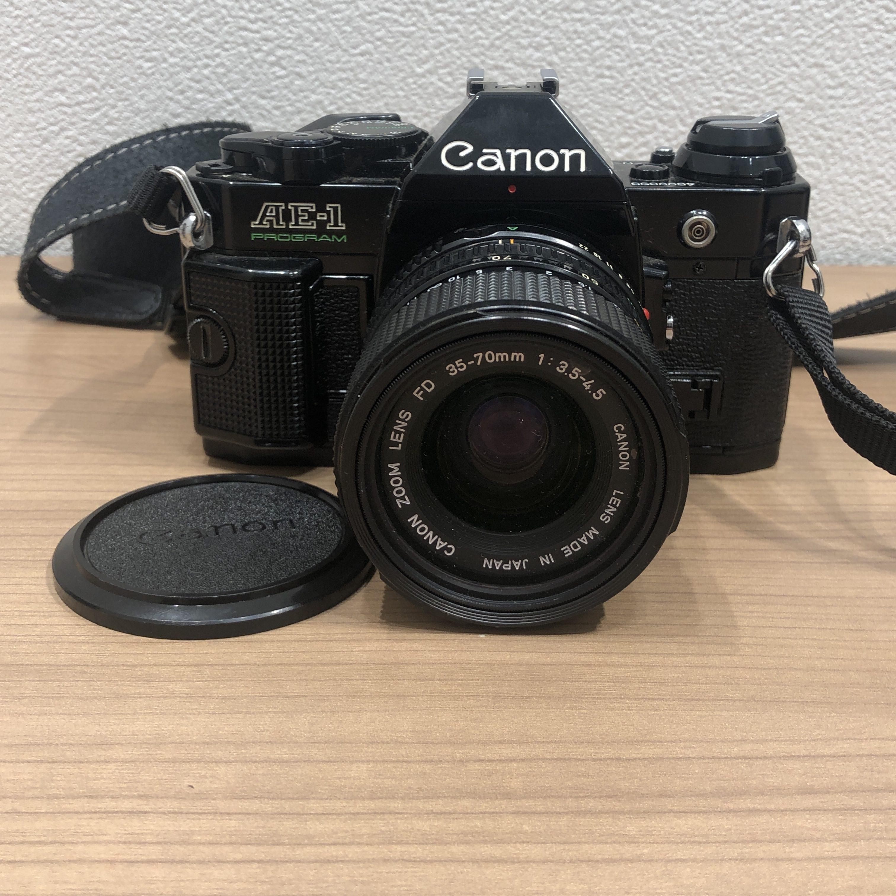 【Canon/キャノン】AE-1 一眼レフ フィルムカメラ