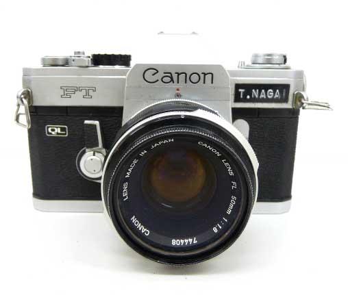【Canon/キャノン】FT QL 一眼レフフィルムカメラ