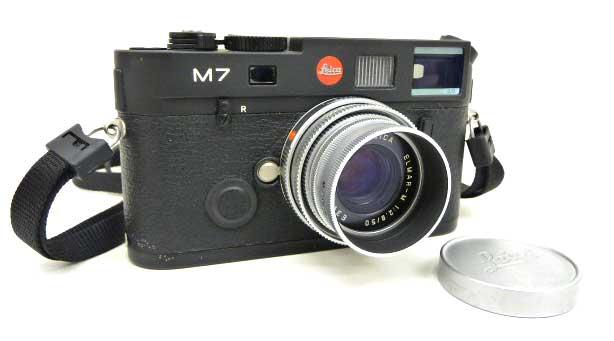 【Laica/ライカ】M7 ブラックボディ レンジファインダーカメラ