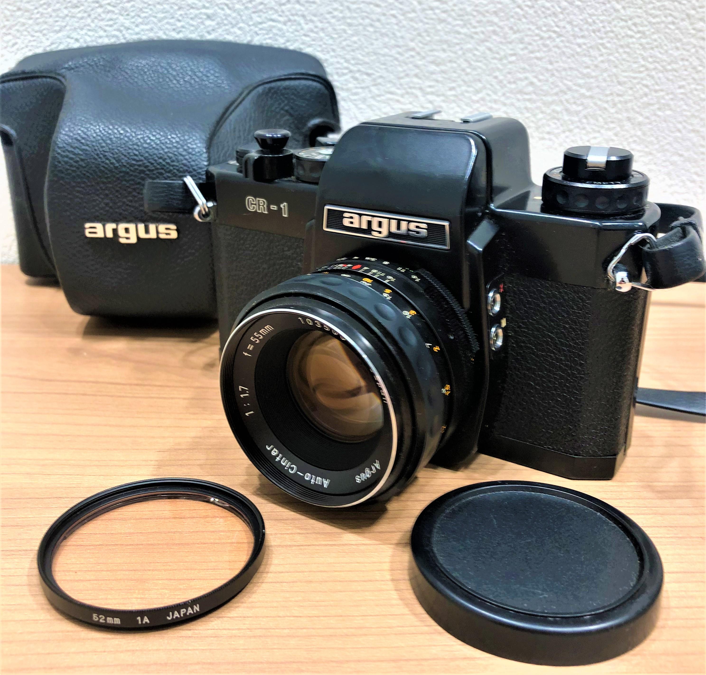 【argus/アーガス】GR-1 一眼レフフィルムカメラ