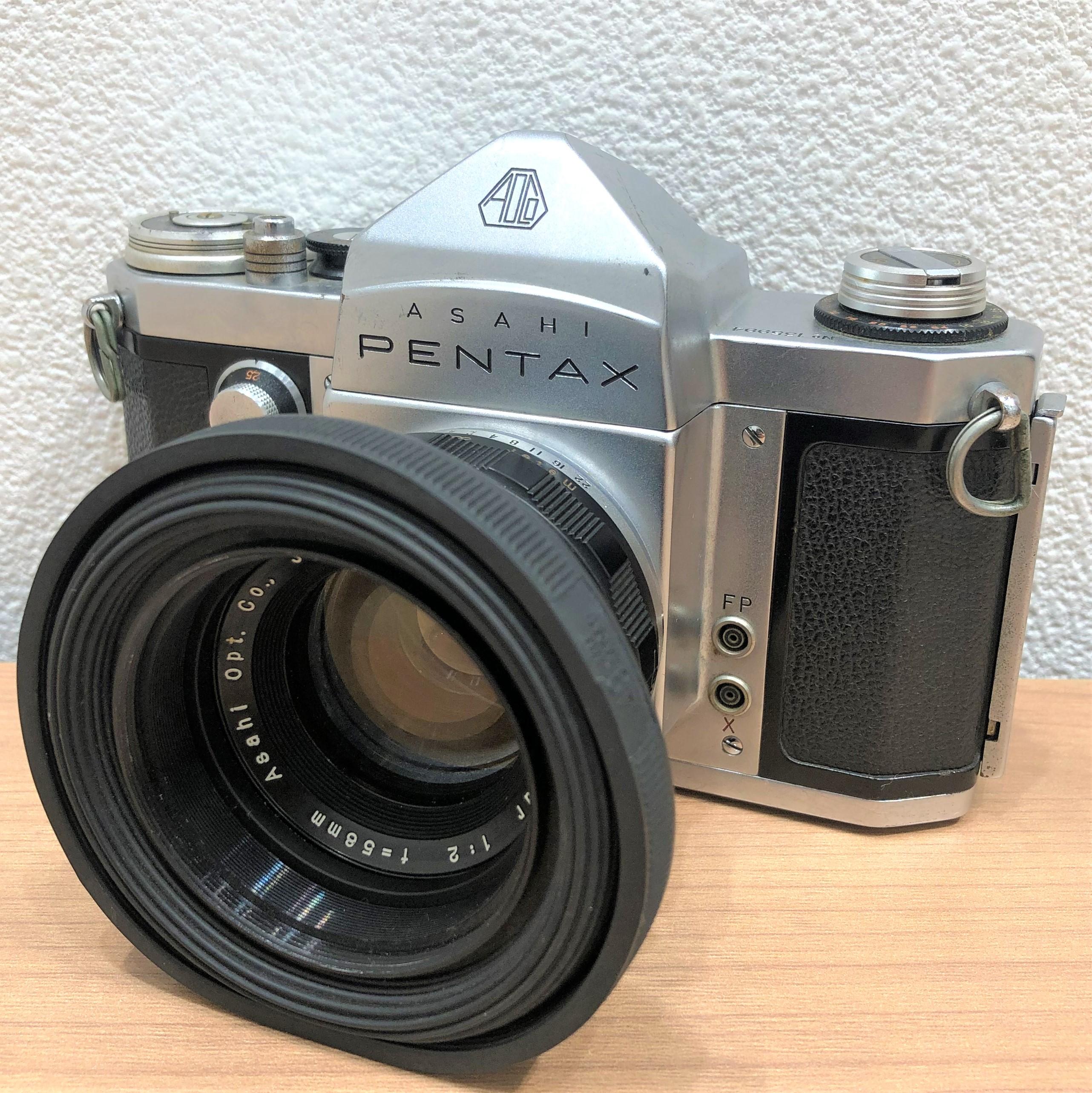 【ASAHI PENTAX/アサヒペンタックス】AP Takumar F2 58mm フィルムカメラ