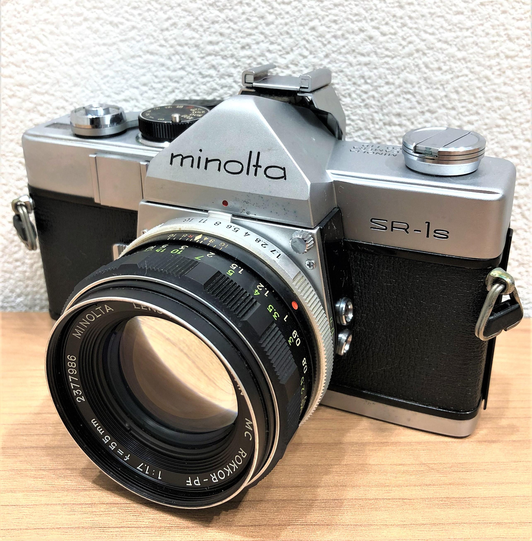 【MINOLTA/ミノルタ】SR-1S 1.7 55mm 一眼レフフィルムカメラ