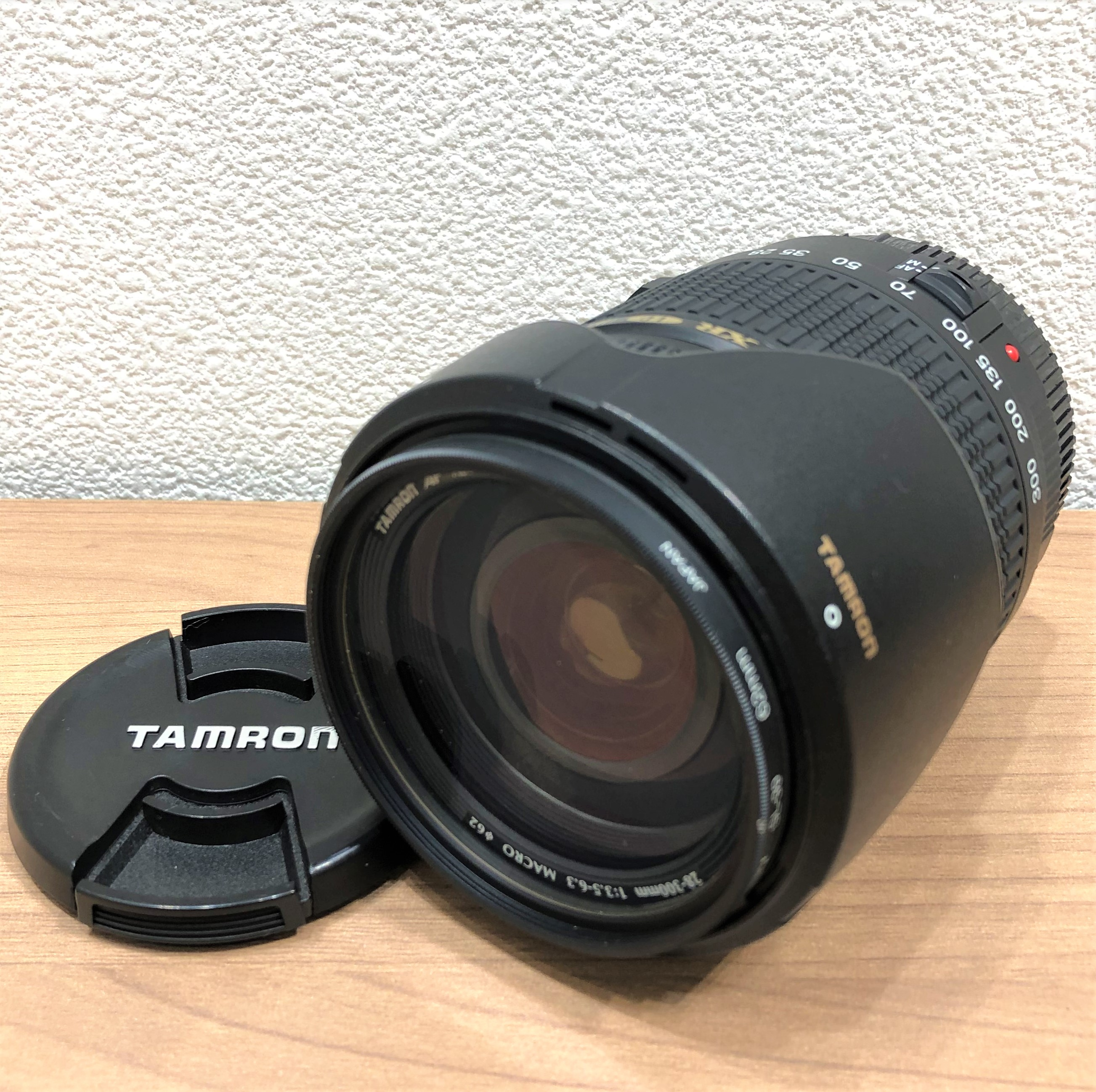 【TAMURON/タムロン】FF ASPHERCAL XR LD IF 28-300mm 3.5-6.3 MARCO レンズ