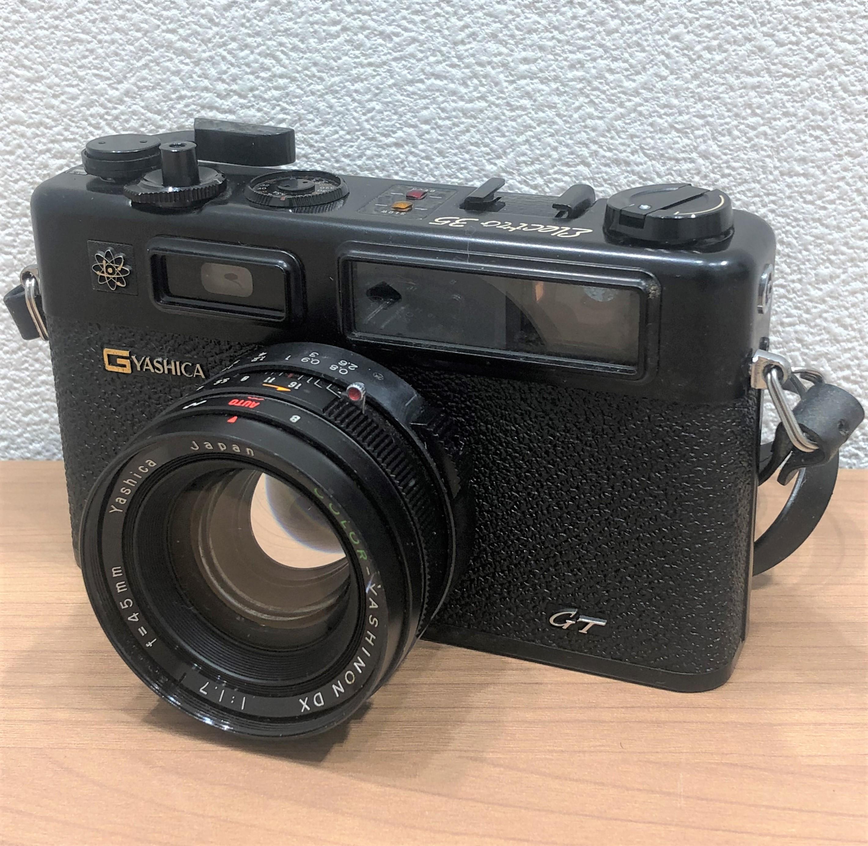 【YASHICA/ヤシカ】エレクトロ35 11.7 45mm フィルムカメラ