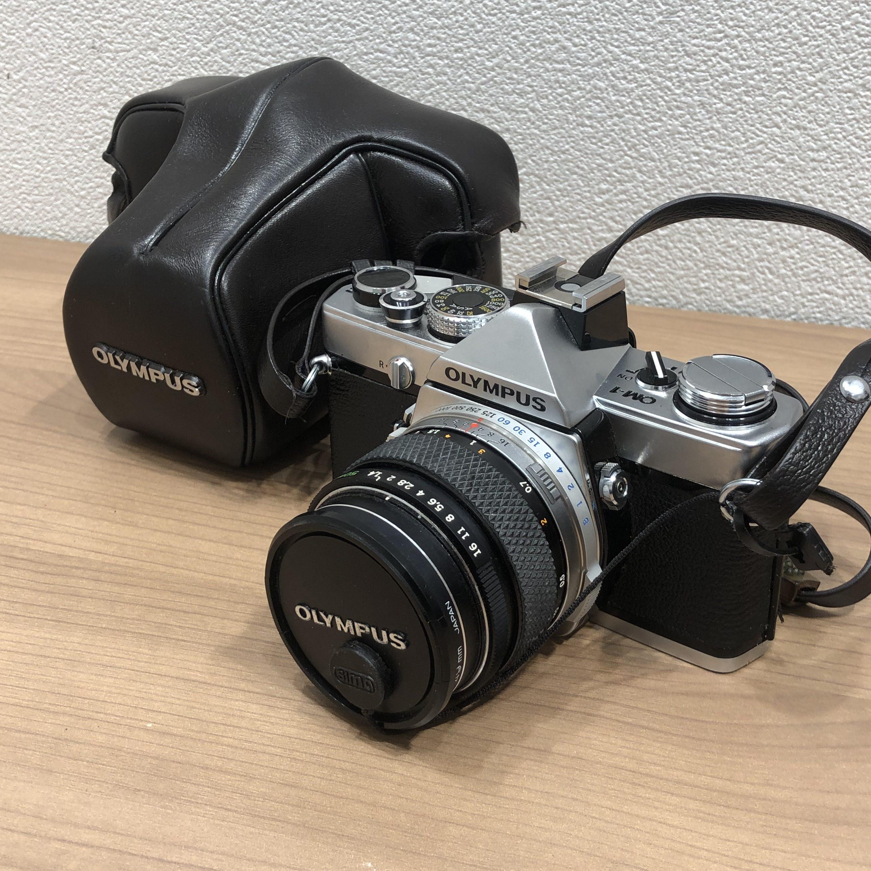 【OLYMPUS/オリンパス】OM-1 1:1.4 f=50mm 一眼レフフィルムカメラ