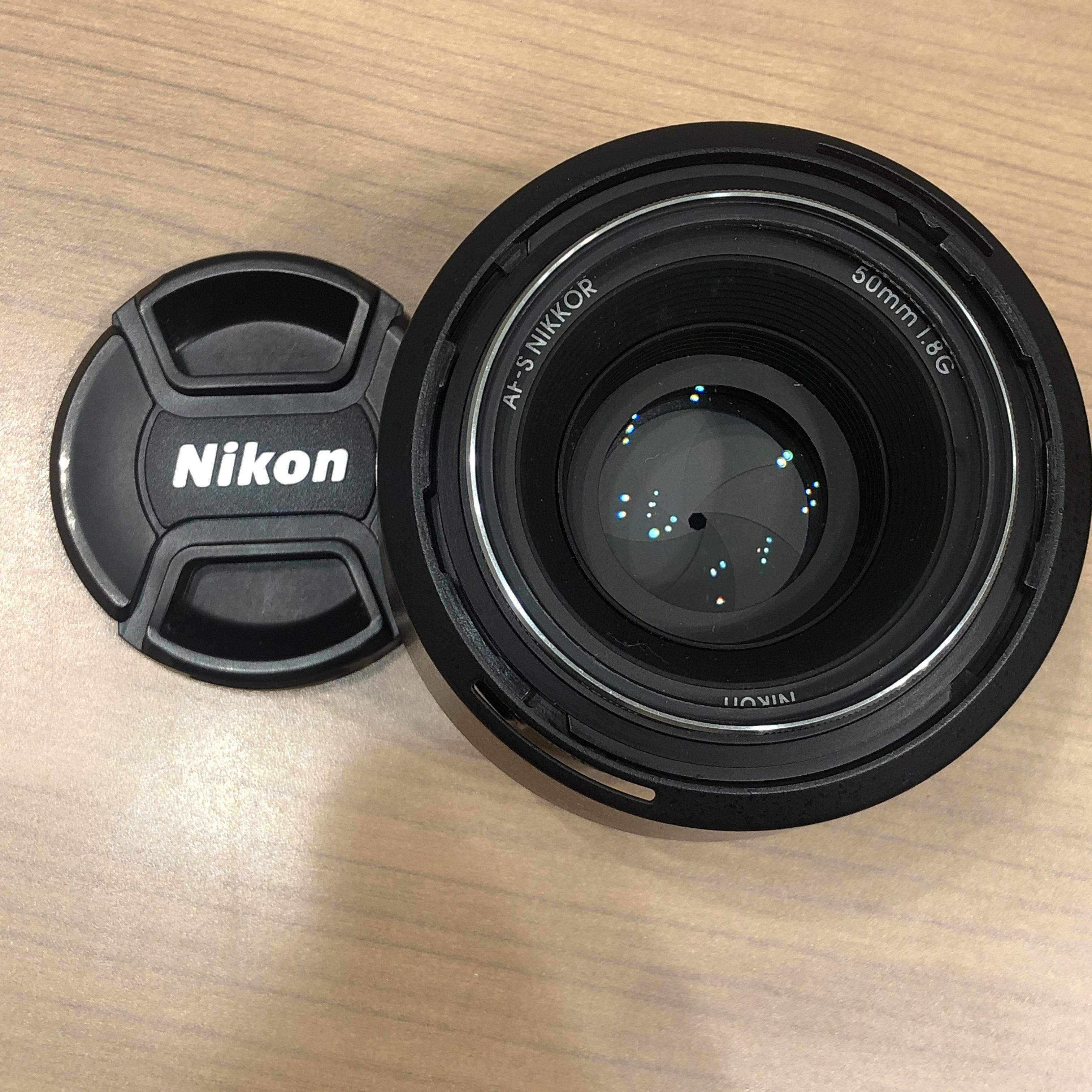 【Nikon/ニコン】レンズ AF-S NIKKOR 50mm1.8G