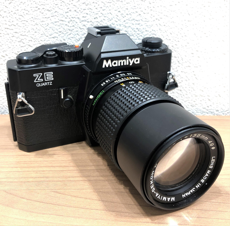【Mamiya/マミヤ】ZE 135mm f3.5 一眼レフフィルムカメラ