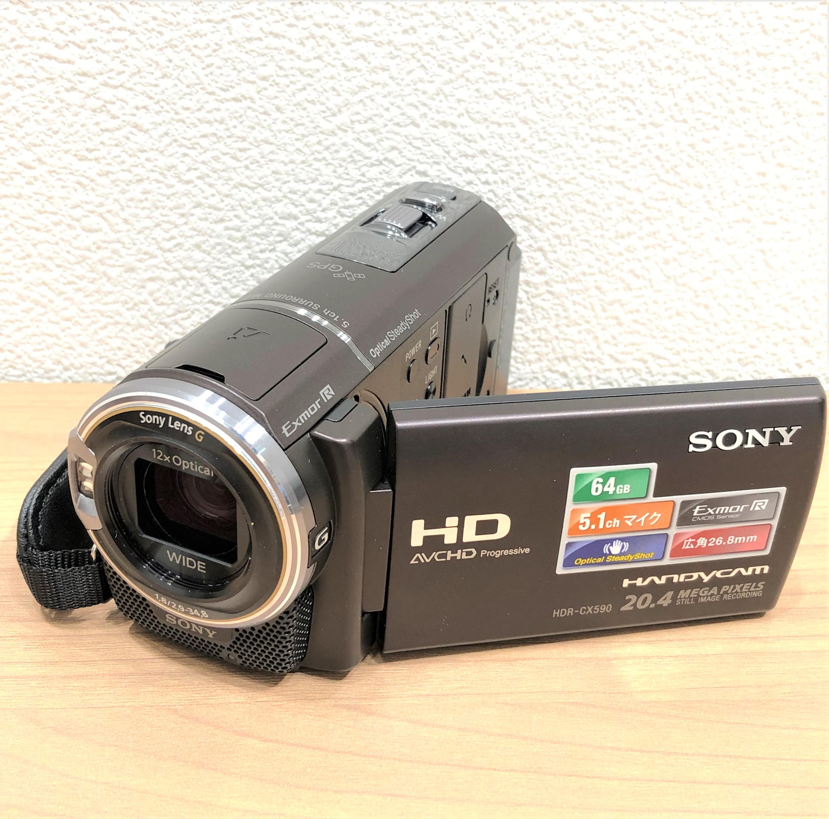 【SONY/ソニー】HDR-CX590V デジタルHDビデオカメラレコーダー