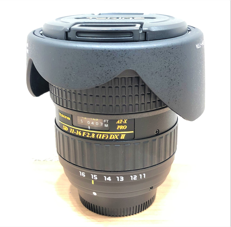 【Tokina/トキナ】AT-X PRO DX SD 11-16 F2.8(IF)DX Ⅱ ニコン用レンズ