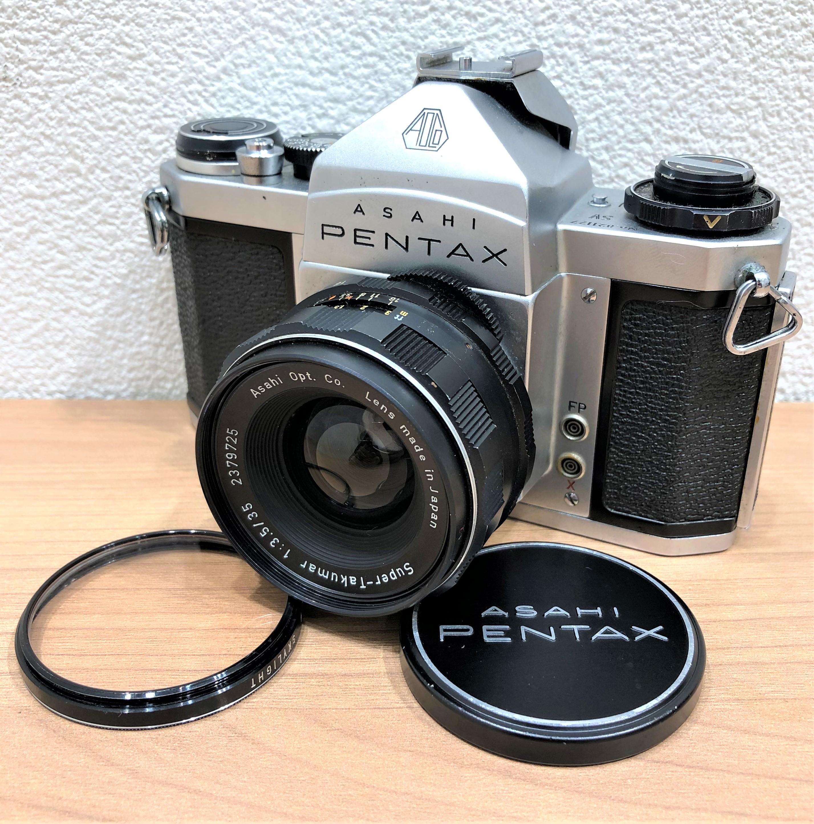 【ASAHI PENTAX/アサヒペンタックス】SV 一眼レフフィルムカメラ