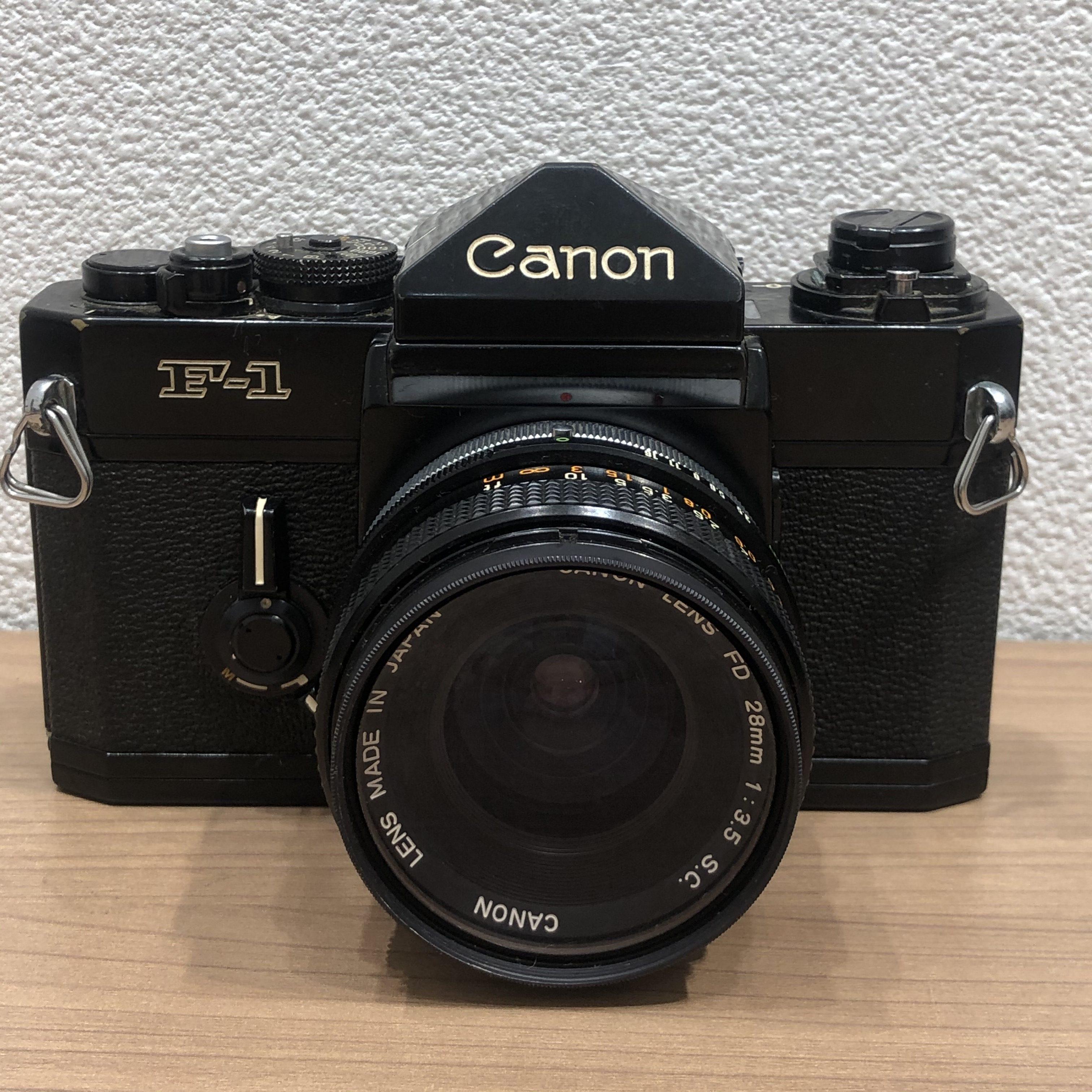 【Canon/キャノン】F-1 フィルムカメラ