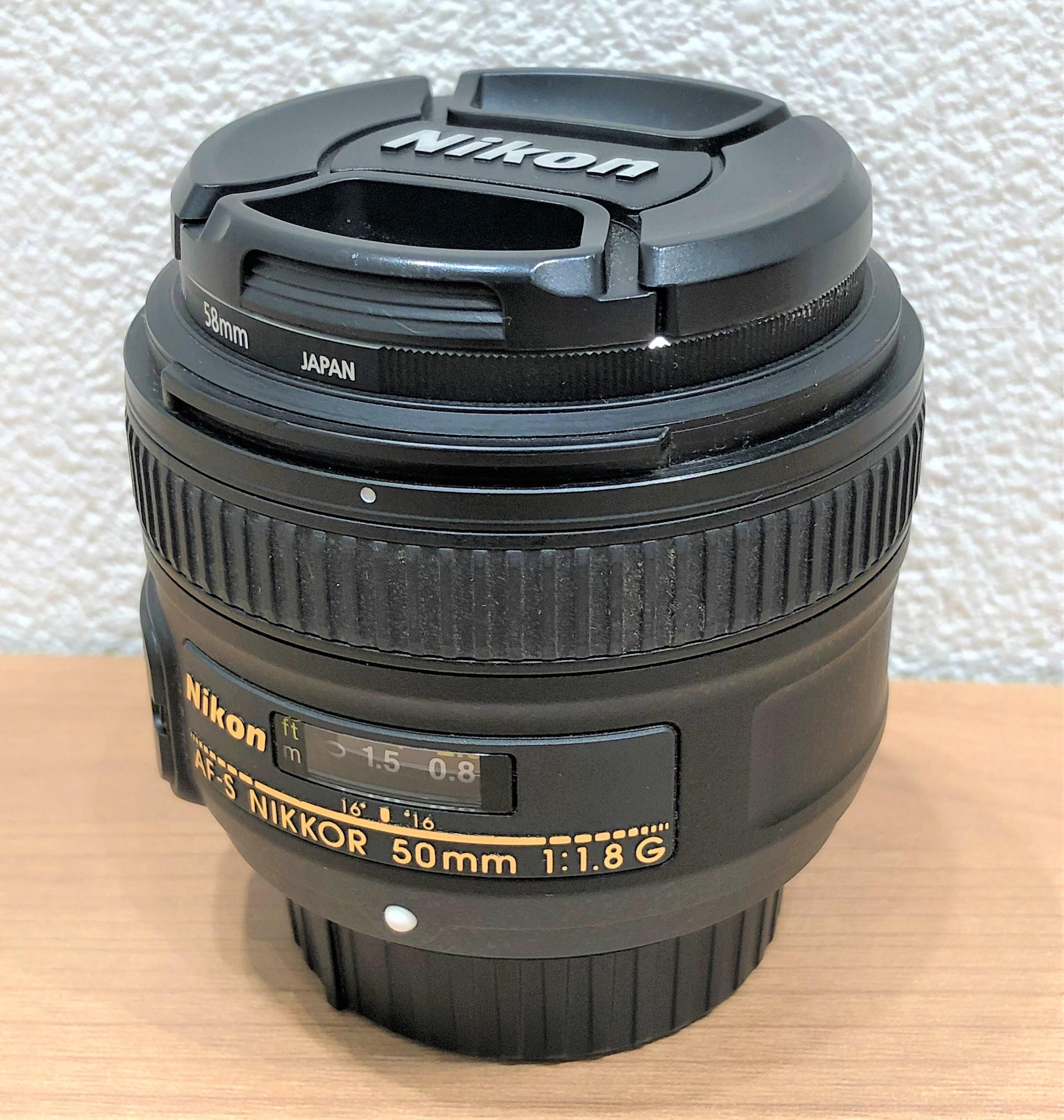 【Nikon/ニコン】AF-S NIKKOR 50mm 11.8G レンズ