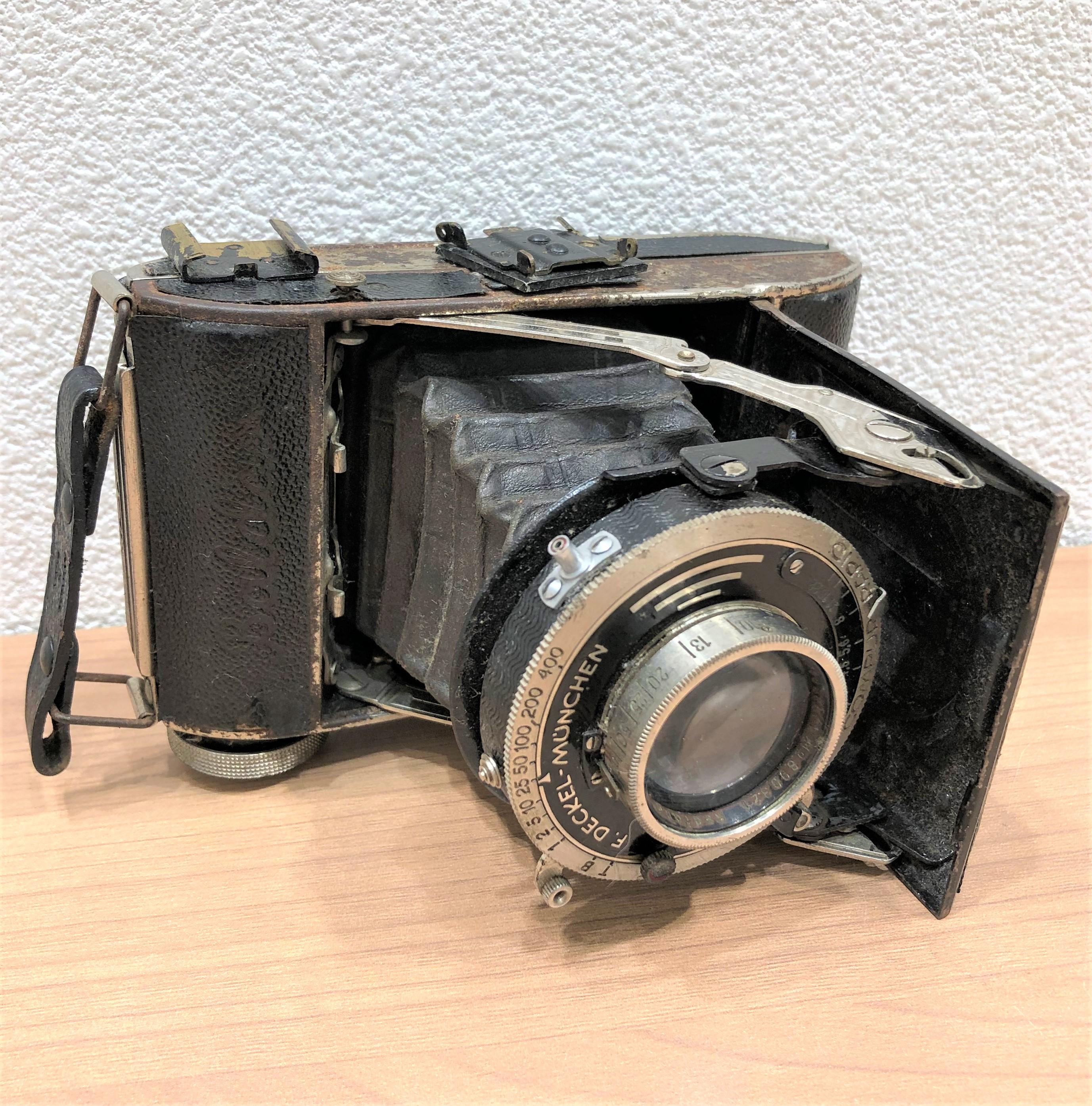 【BALDAX/バルダ】F.DECKEL-MUNCHEN COMPUR-RAPID カメラ
