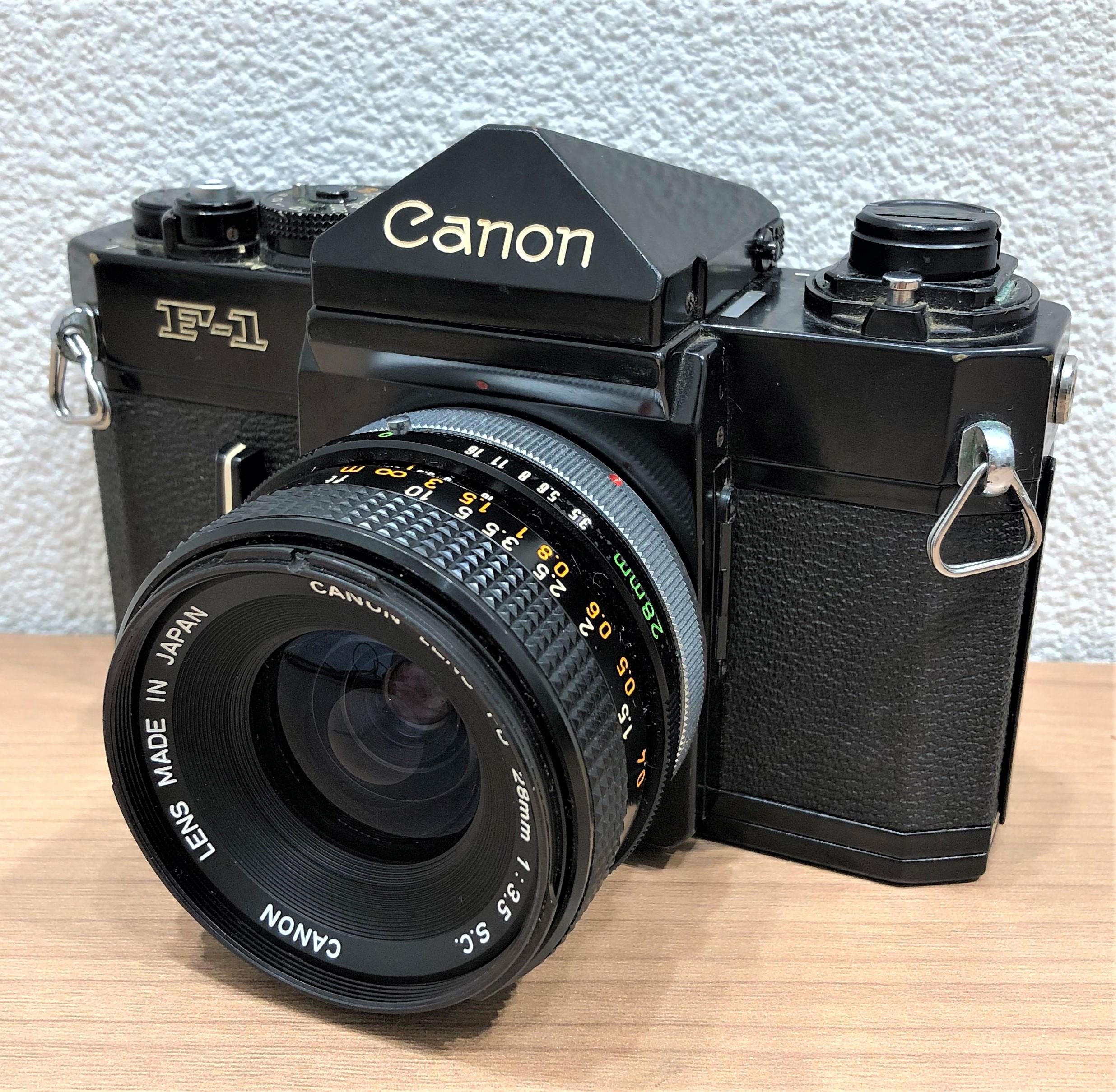【Canon/キャノン】F-1 FD 28mm 13.5 一眼レフフィルムカメラ