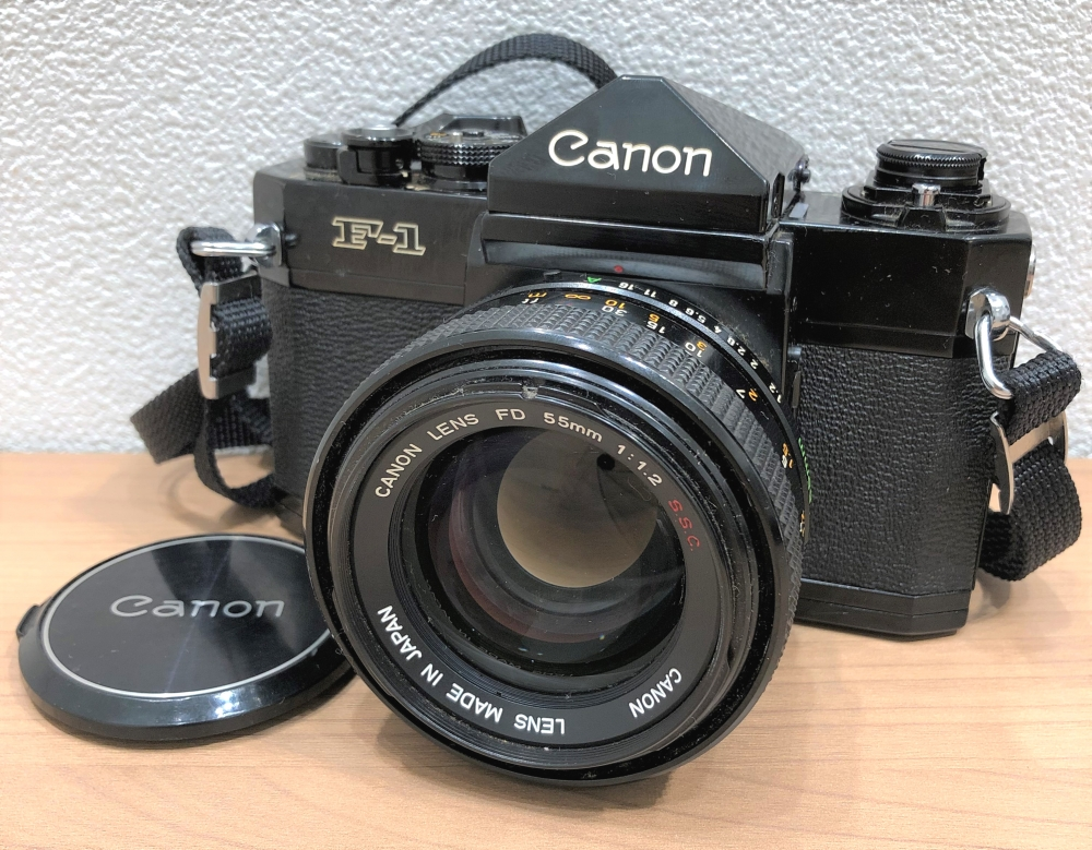 【Canon/キャノン】F-1 55mm 1:1.2