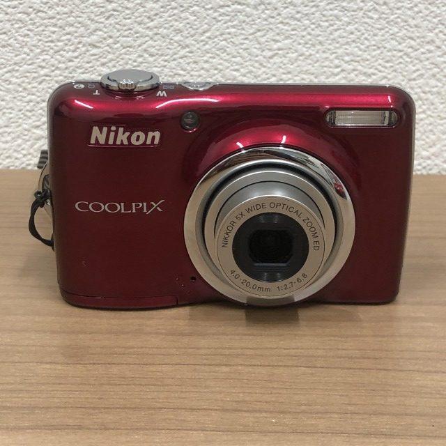 【Nikon/ニコン】COOLPIX L23 デジカメ レッド