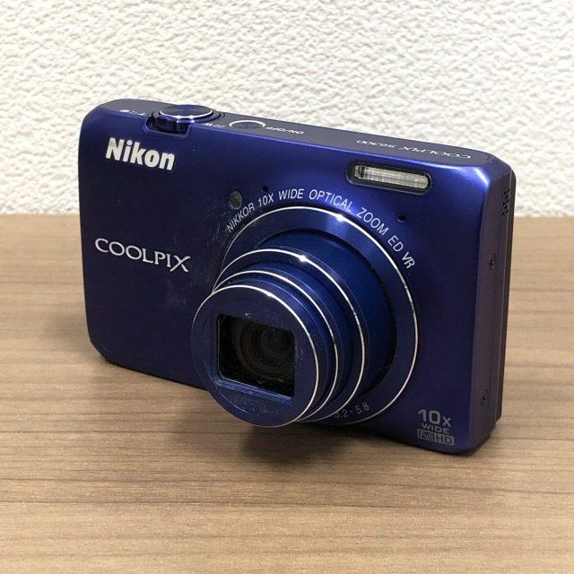【Nikon/ニコン】COOLPIX S6300 デジカメ ブルー 4.5-45.0mm 1 3.2-5.8 1