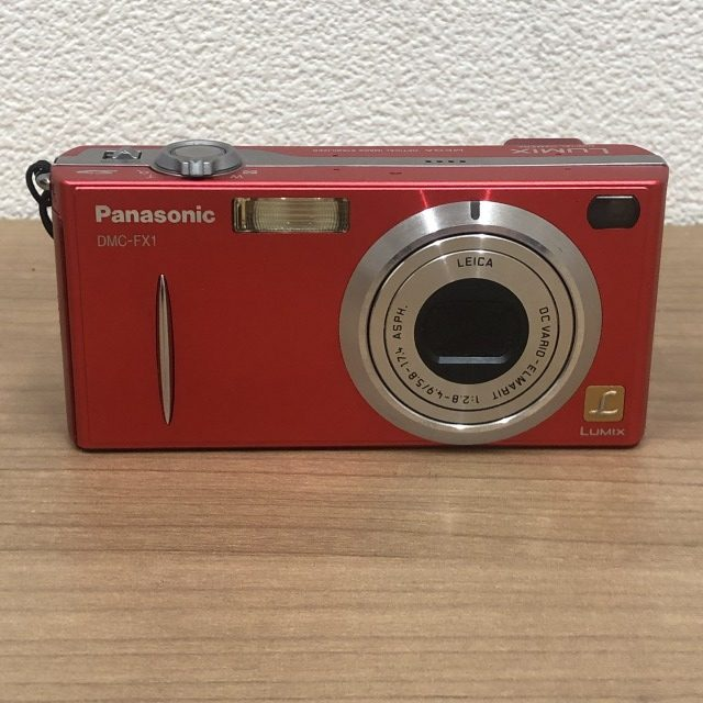 【Panasonic/パナソニック】DMC-FX1 コンパクトデジタルカメラ