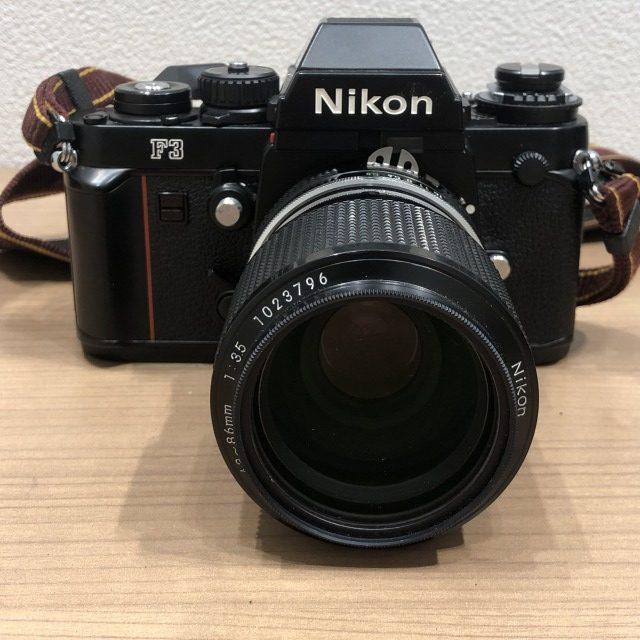 【Nikon/ニコン】F3  18-86mm 1:3.5カメラ
