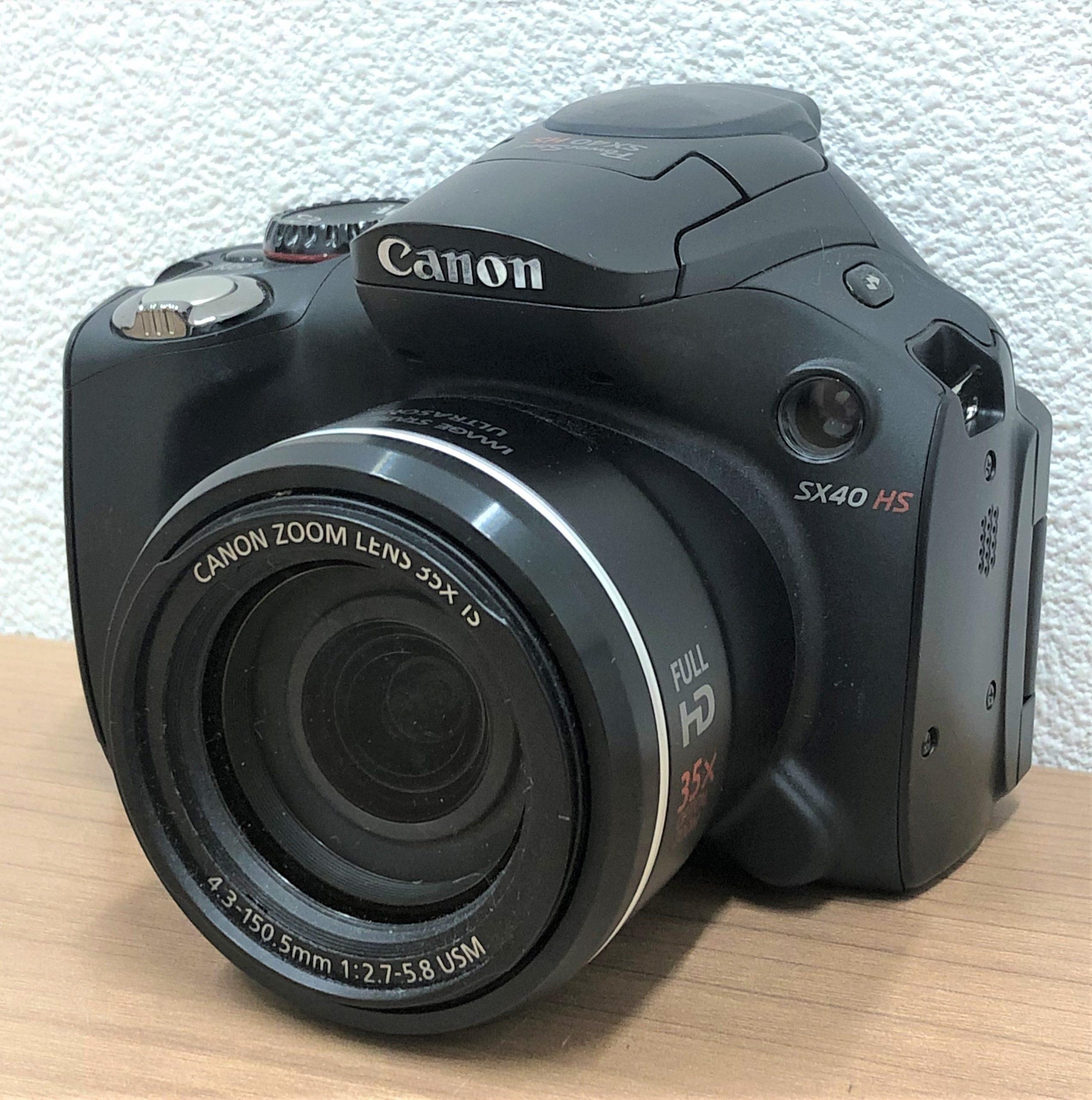 【Canon/キャノン】パワーショット SX40 HS デジタルカメラ