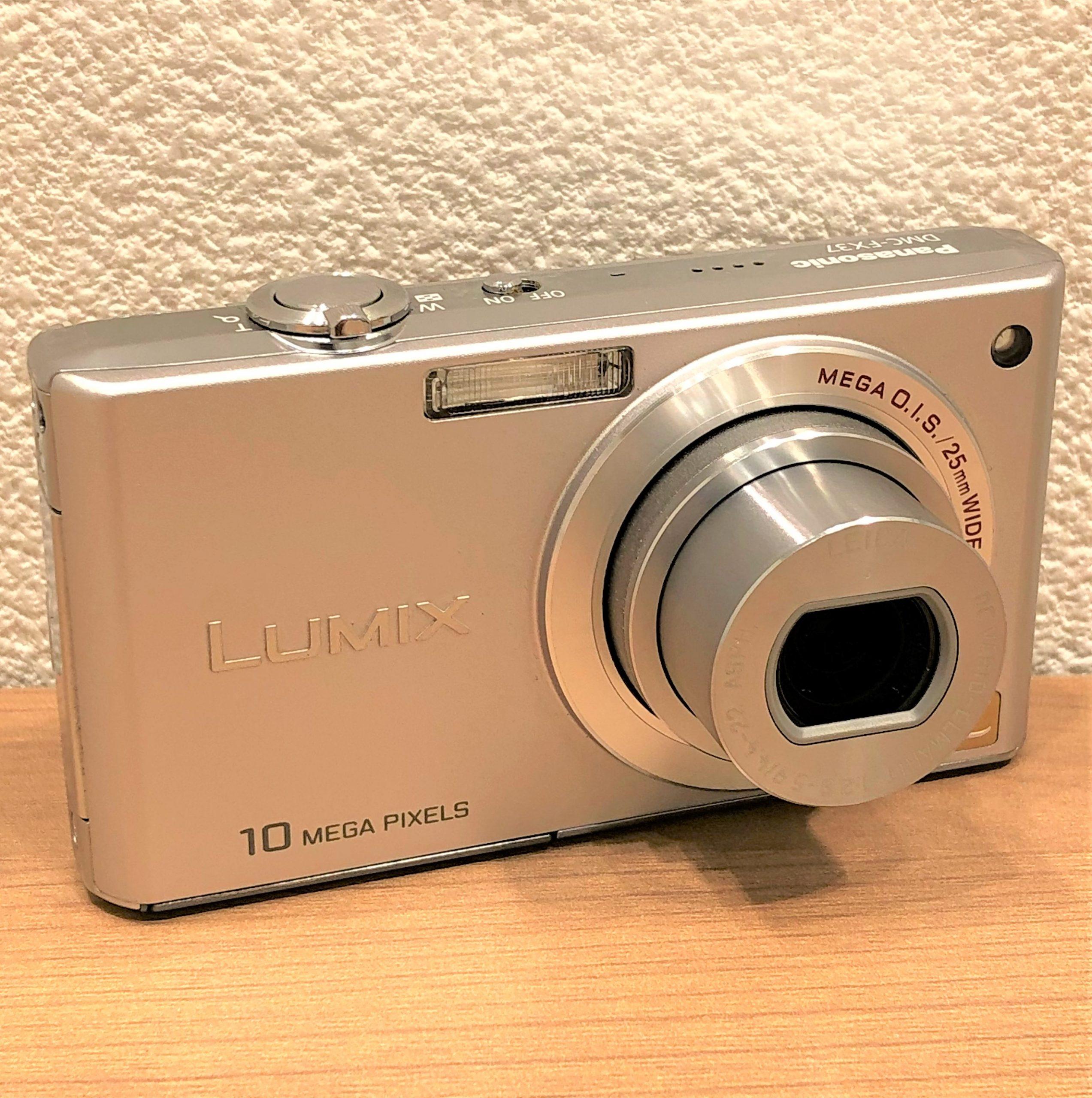 【Panasonic/パナソニック】ルミックス DMC-FX37 コンパクトデジタルカメラ