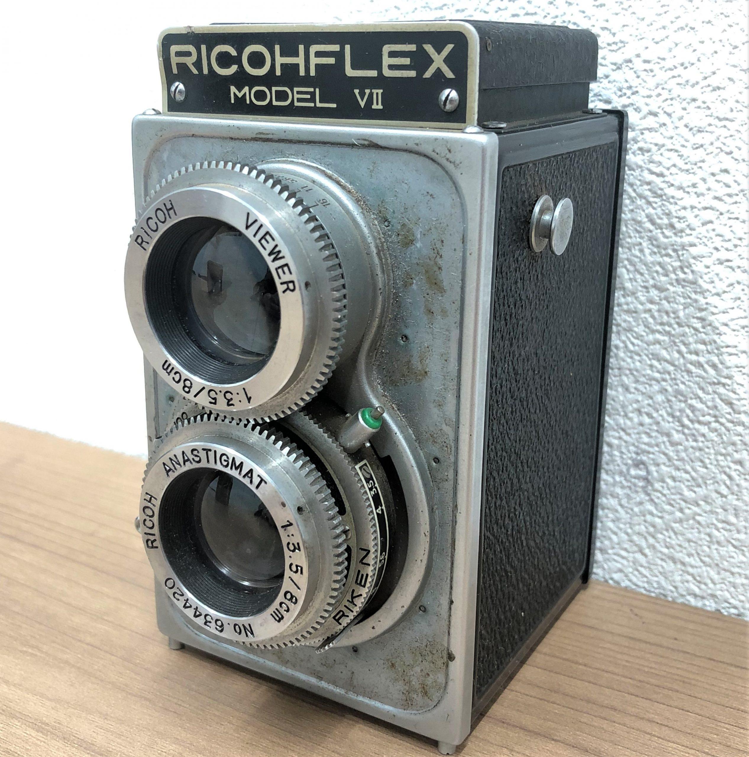 【RICOHFLEX/リコーフレックス】MODEL Ⅶ 3.5 8cm 二眼レフカメラ